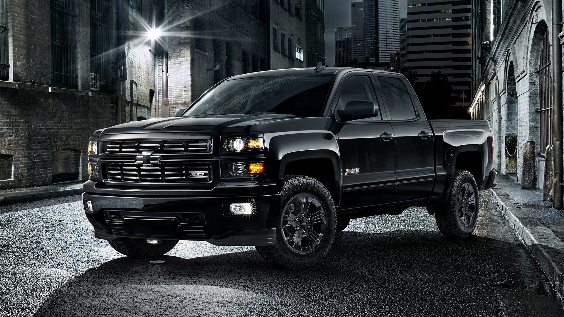 Chevrolet Silverado Lt Z71 Midnight Double Cab 2015 Wallpapers And Hd Images Car Pixel