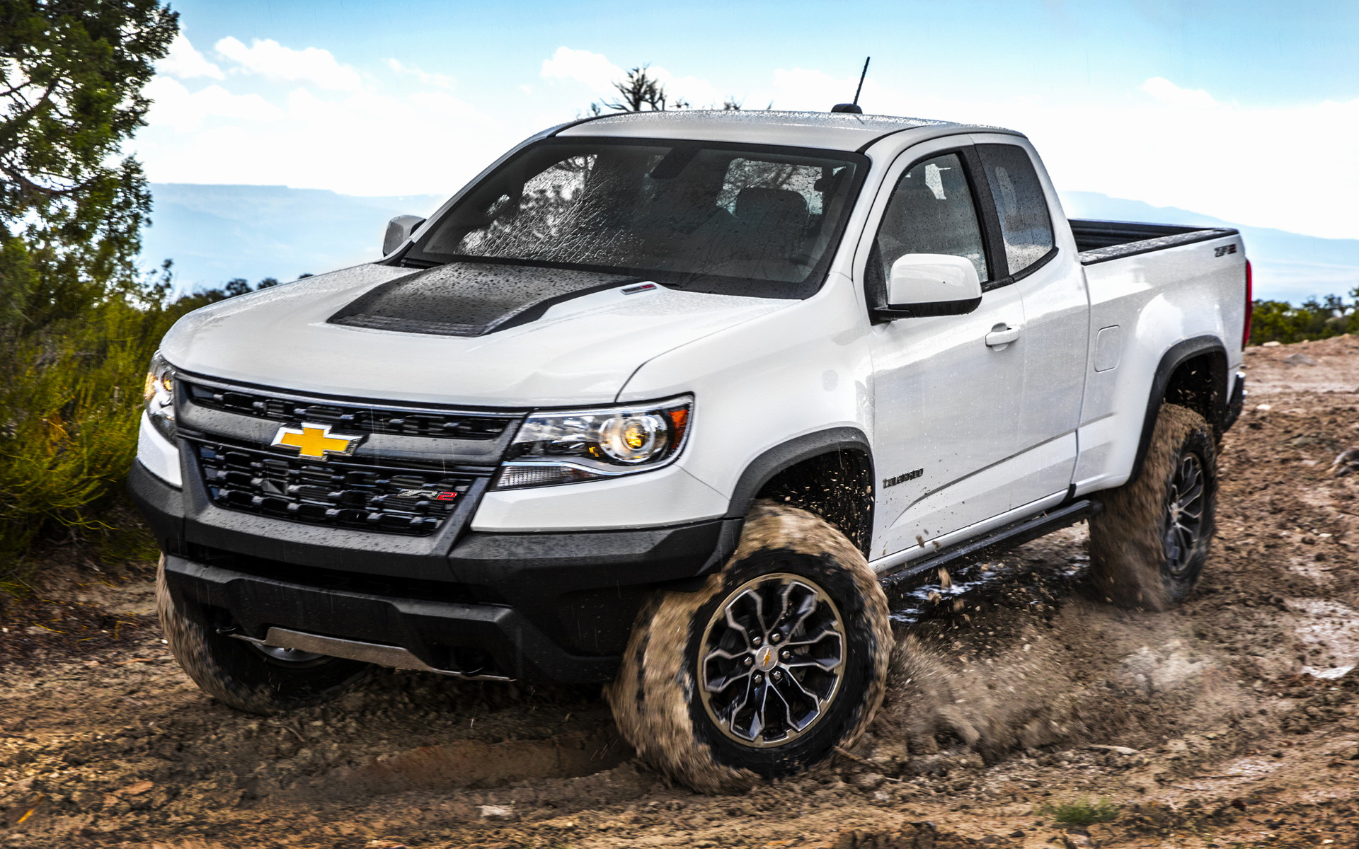 chevrolet colorado zr2 extended cab 2017 wallpapers and hd images car pixel. Black Bedroom Furniture Sets. Home Design Ideas