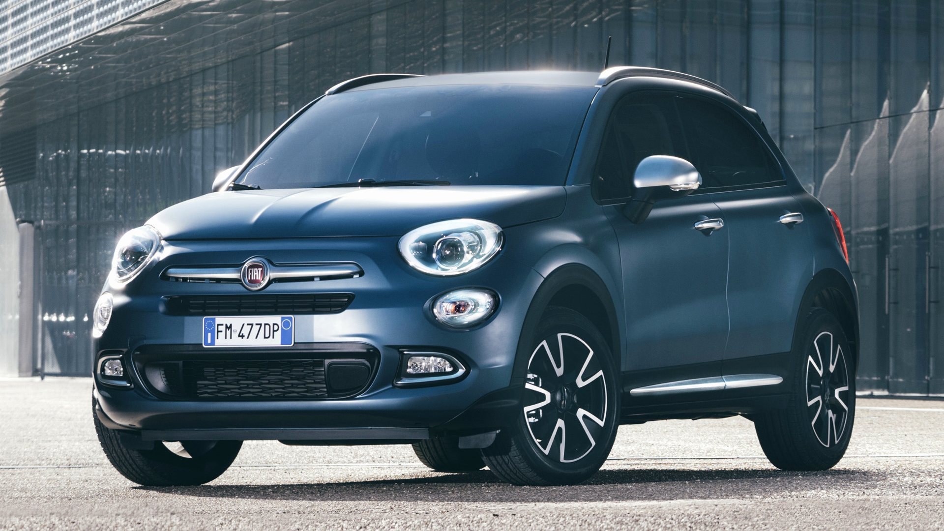 2018 fiat 500x mirror wallpapers and hd images car pixel. Black Bedroom Furniture Sets. Home Design Ideas