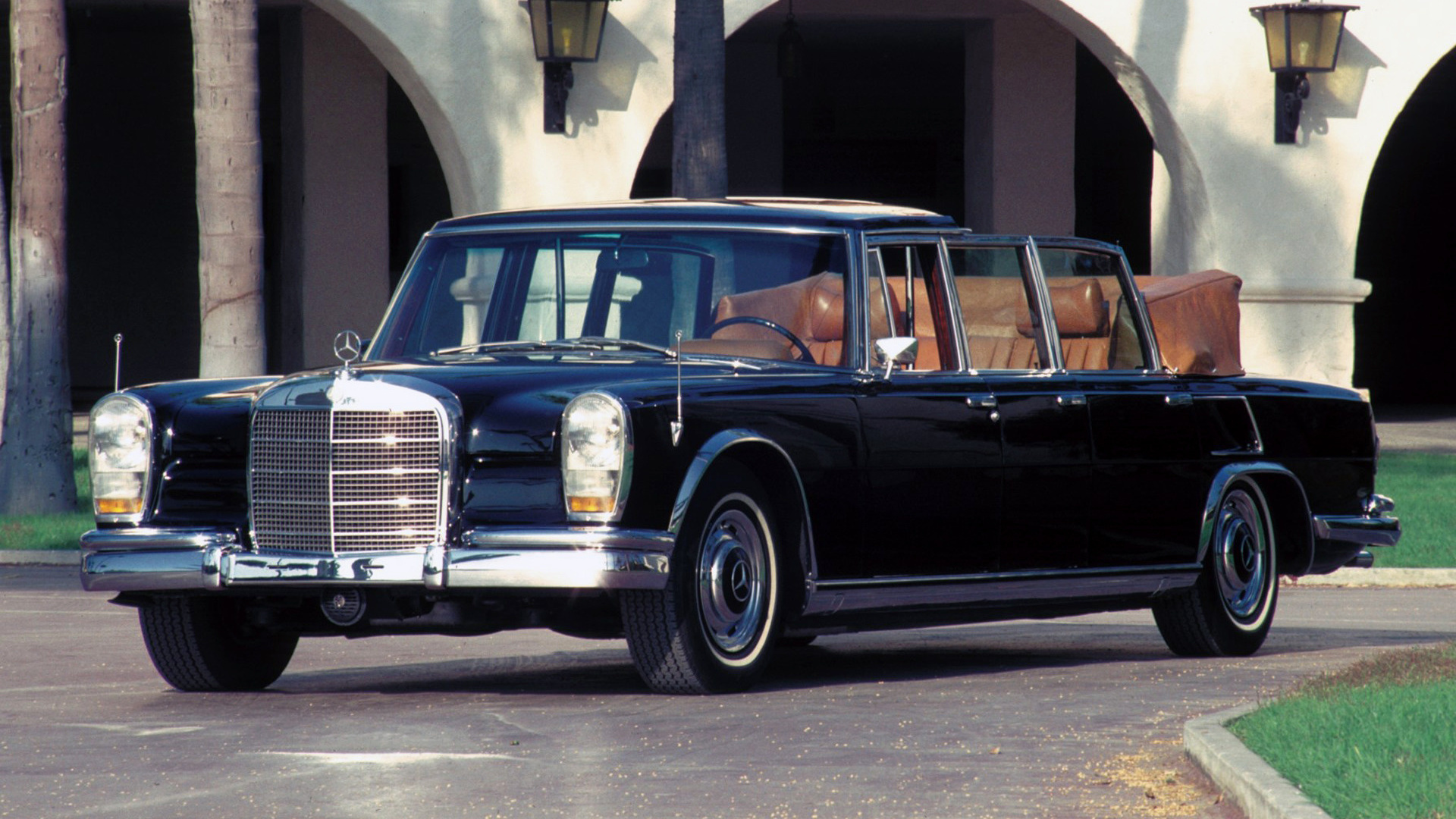1965 Mercedes Benz 600 Pullman Landaulet Wallpapers And