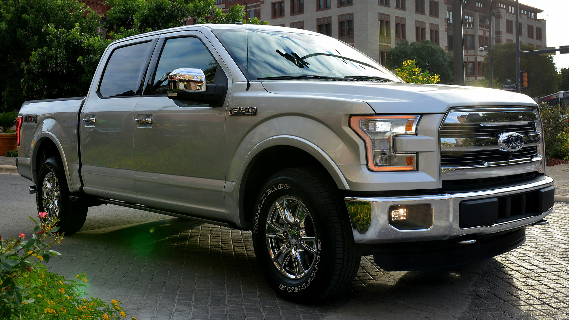 ford f 150 lariat supercrew 2015 wallpapers and hd images car pixel. Black Bedroom Furniture Sets. Home Design Ideas