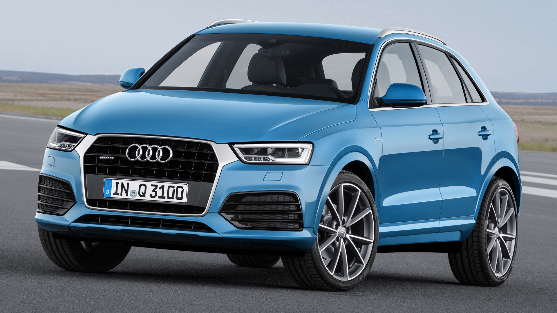 audi q3 s line 2015 wallpapers and hd images car pixel. Black Bedroom Furniture Sets. Home Design Ideas