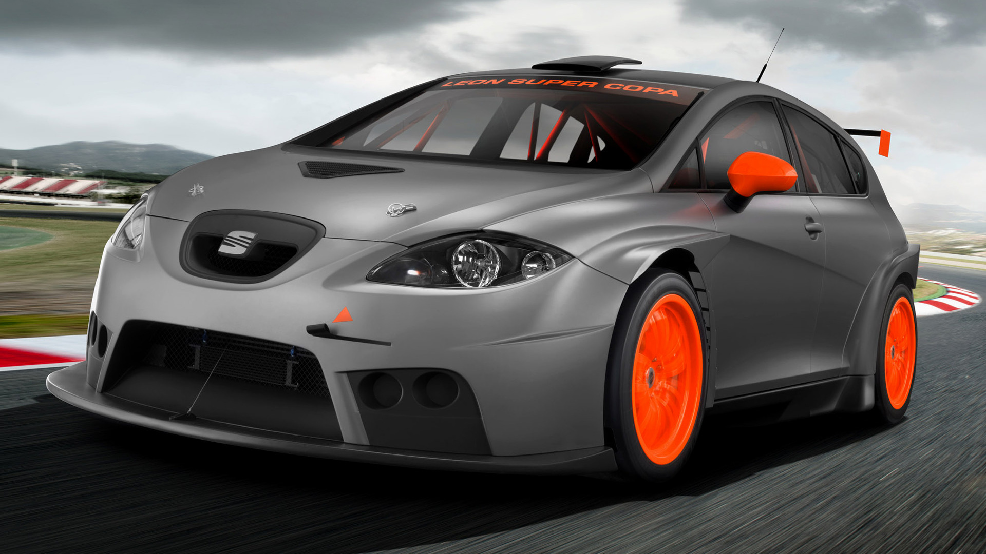 seat leon supercopa 2011 wallpapers and hd images car pixel. Black Bedroom Furniture Sets. Home Design Ideas
