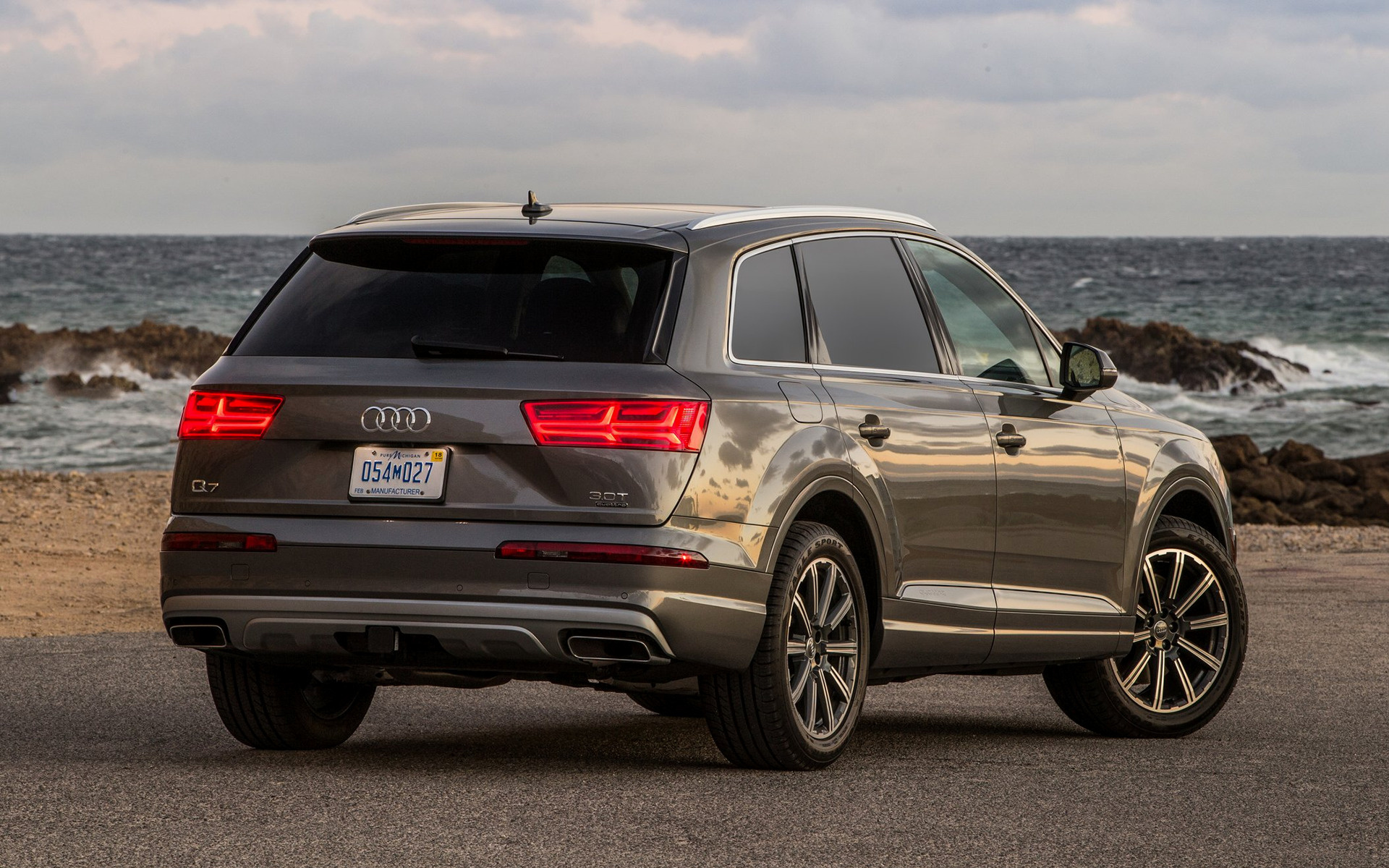 Audi Q7 2017 Us Wallpapers And Hd Images Car Pixel