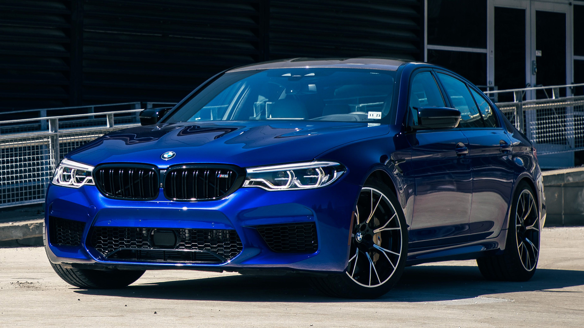 2019 Bmw M5 Competition Us Wallpapers And Hd Images Car Pixel