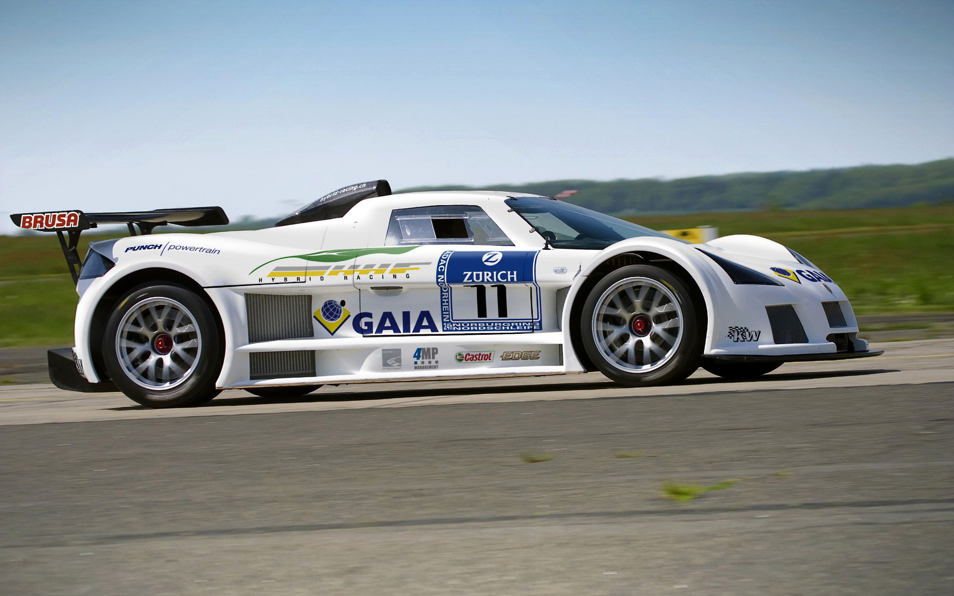 2008 Gumpert Apollo 24-hour Nurburgring - Wallpapers and ...
