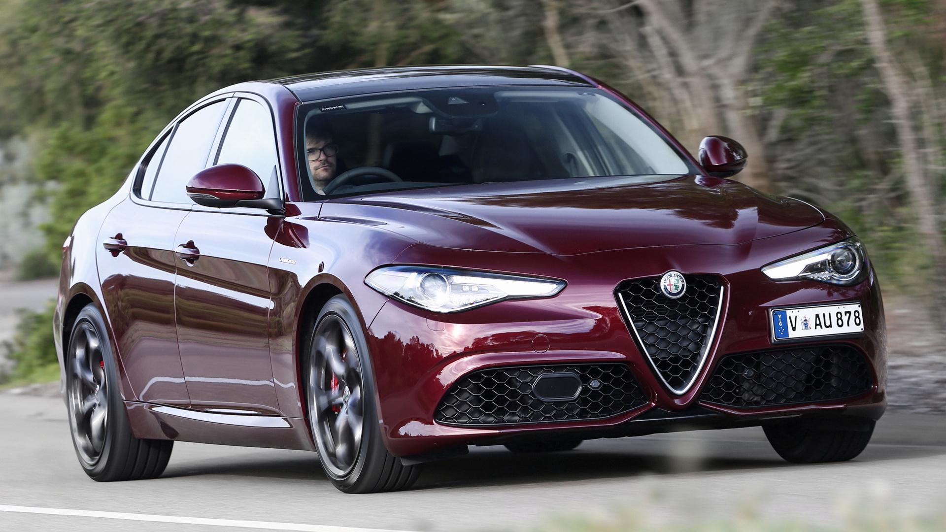 Alfa Giulia Veloce >> Alfa Romeo Giulia Veloce (2017) AU Wallpapers and HD Images - Car Pixel