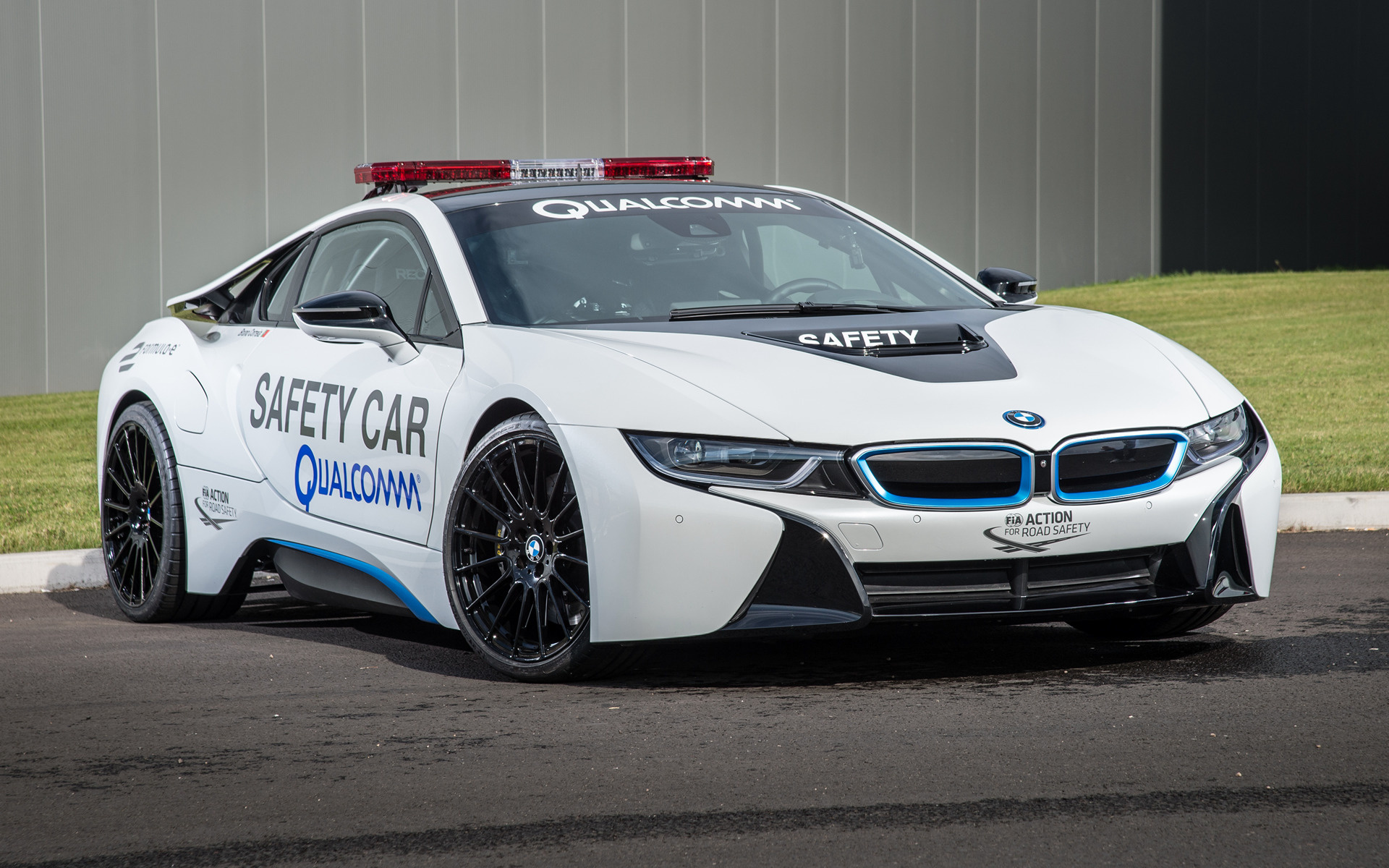 2014 bmw i8 formula e safety car wallpapers and hd. Black Bedroom Furniture Sets. Home Design Ideas