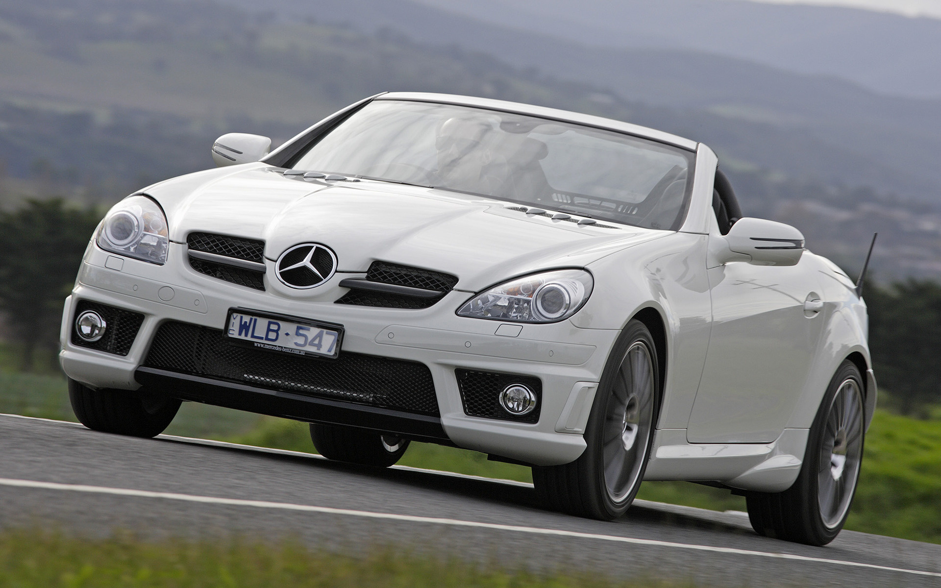 Who Makes Cadillac >> Mercedes-Benz SLK 55 AMG (2008) AU Wallpapers and HD Images - Car Pixel