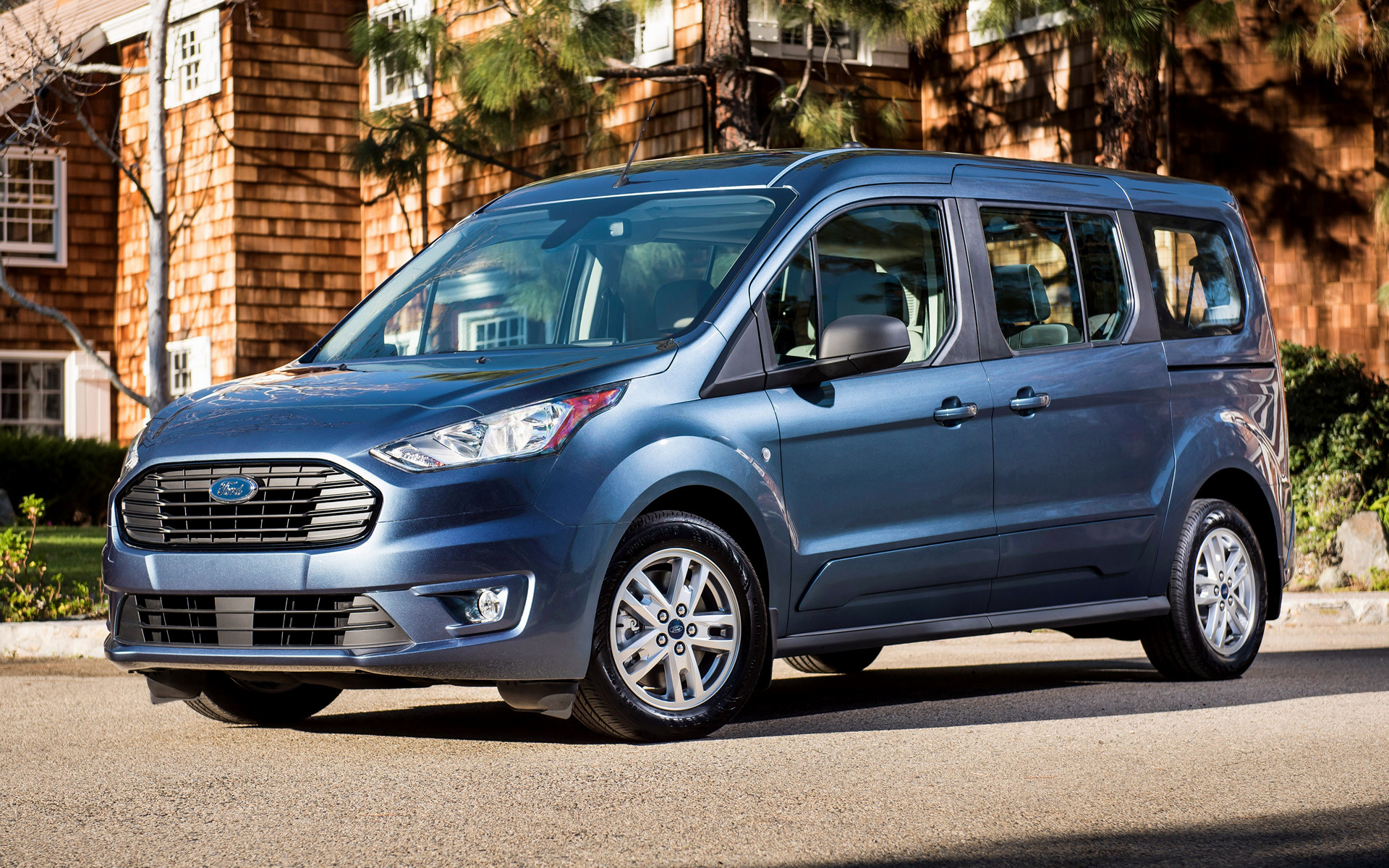 Ford Transit Wagon >> 2019 Ford Transit Connect Wagon [LWB] (US) - Wallpapers and HD Images | Car Pixel