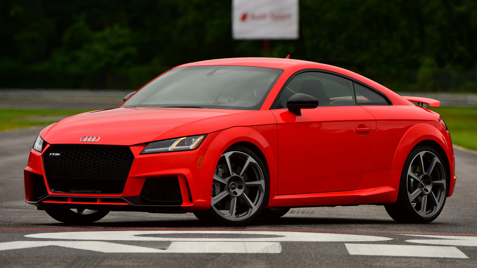2018 audi tt rs coupe us wallpapers and hd images. Black Bedroom Furniture Sets. Home Design Ideas