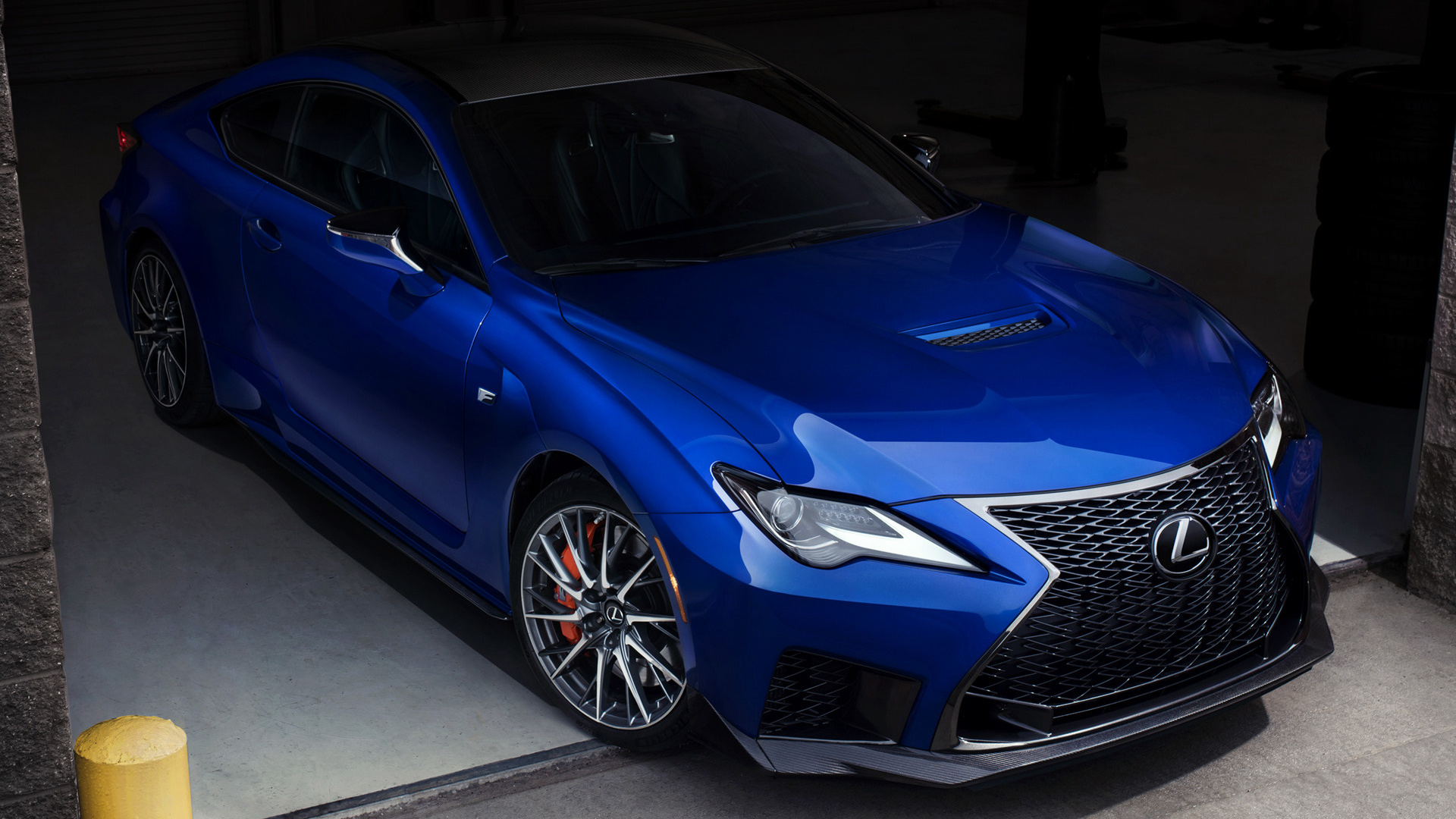 2020 Lexus RC F (US) - Wallpapers and HD Images | Car Pixel