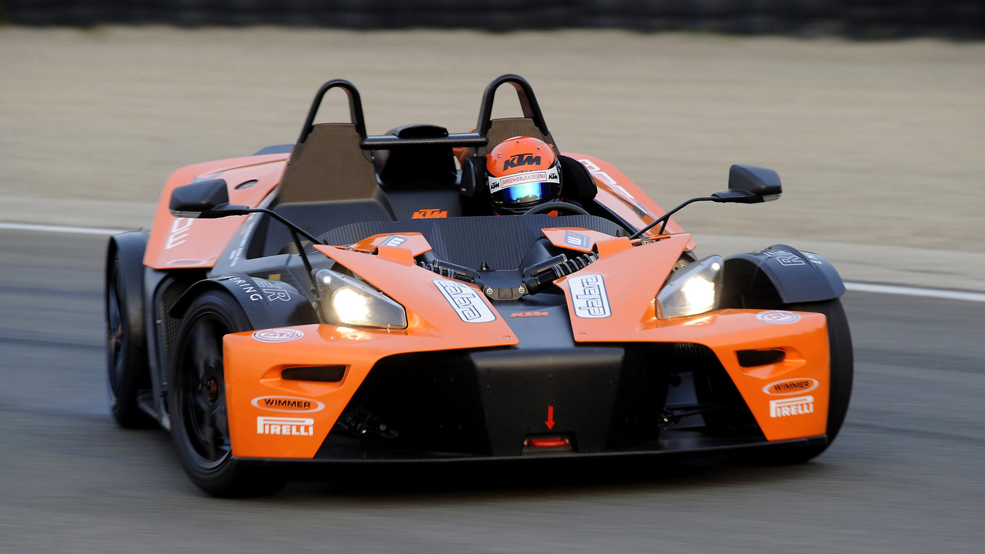 Ktm X Bow >> 2008 KTM X-Bow GT4 - Wallpapers and HD Images | Car Pixel
