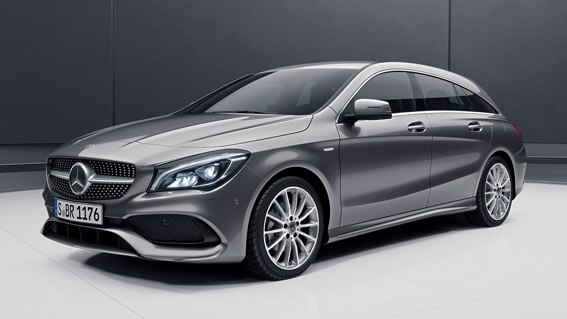 2018 Mercedes Benz Cla 250 >> Mercedes-Benz CLA-Class Shooting Brake Night Edition (2018) Wallpapers and HD Images - Car Pixel