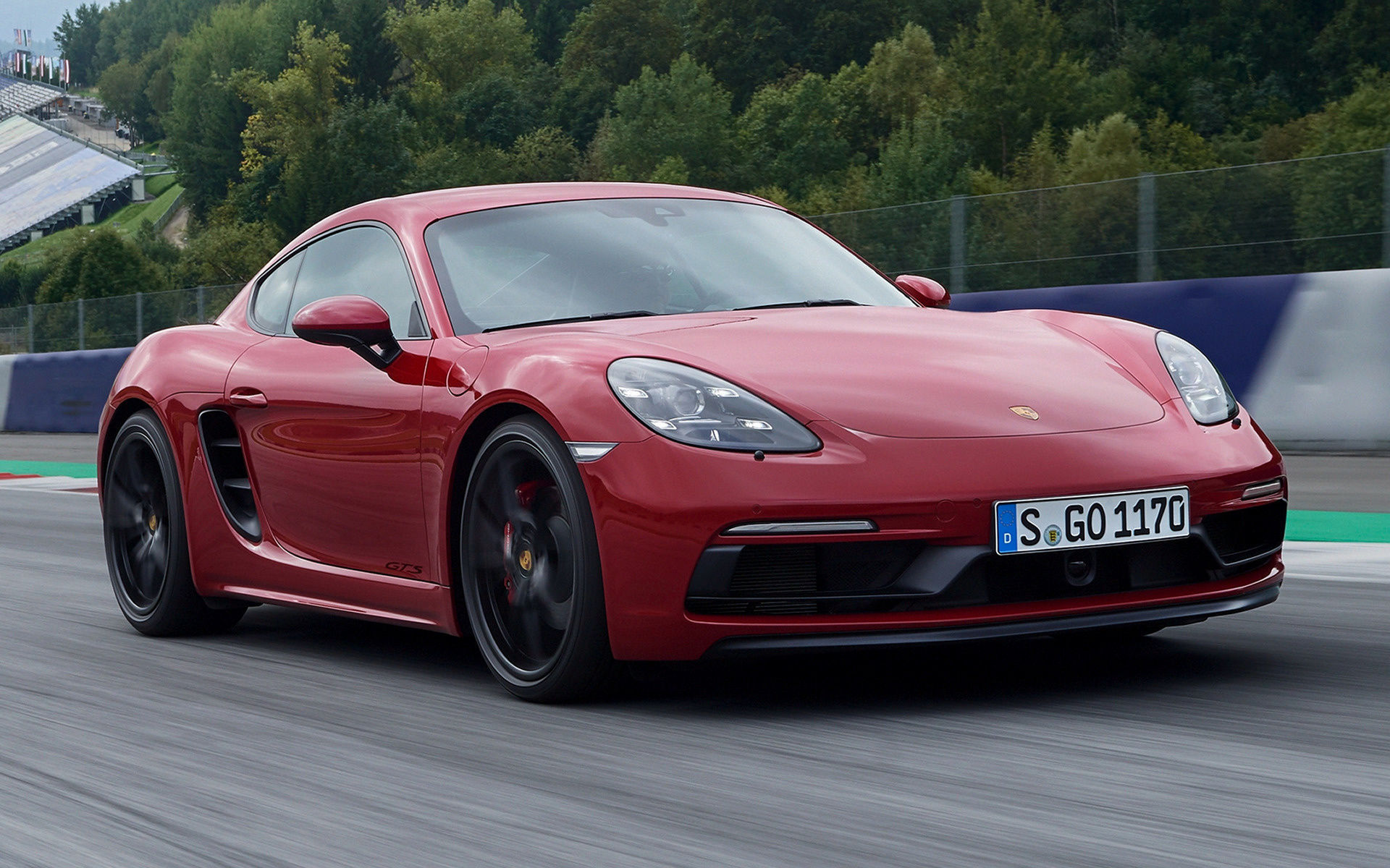 2017 Porsche 718 Cayman GTS - Wallpapers and HD Images ...
