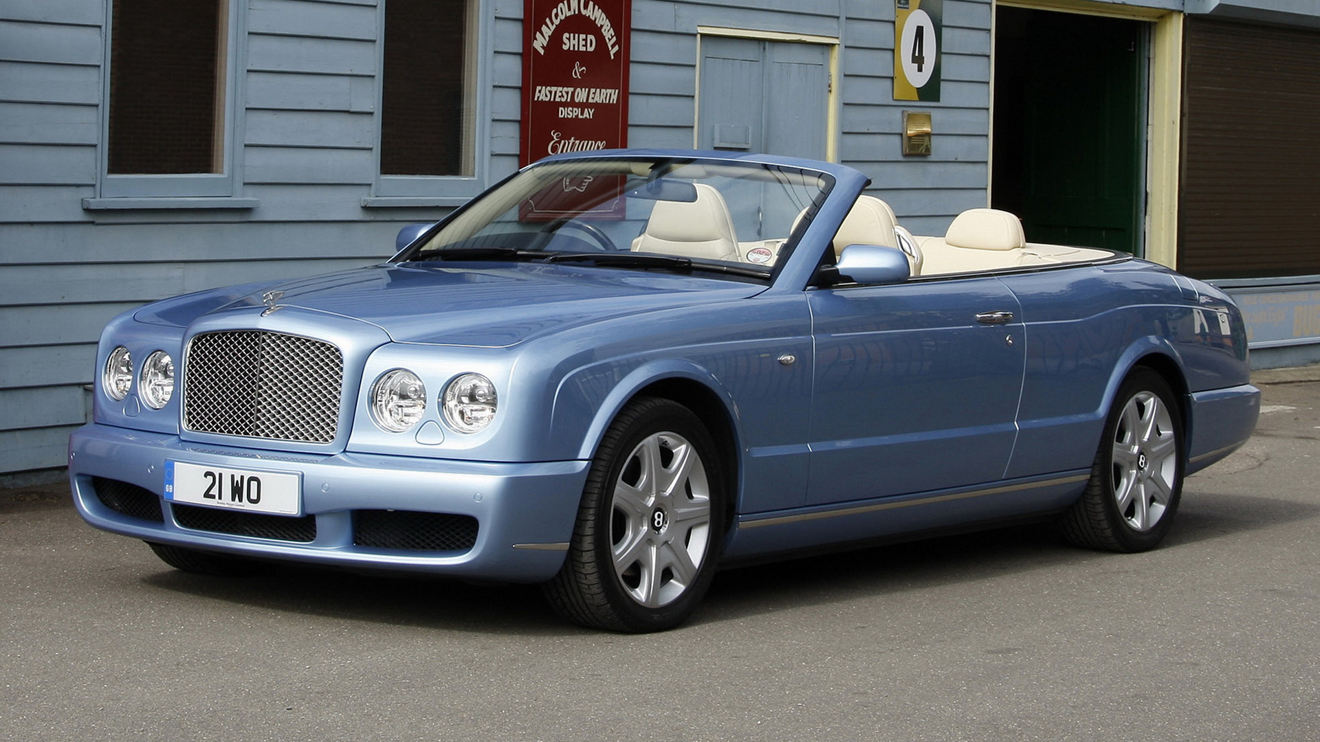 Bentley azure 2006 uk wallpapers and hd images car pixel hd 169 vanachro Image collections