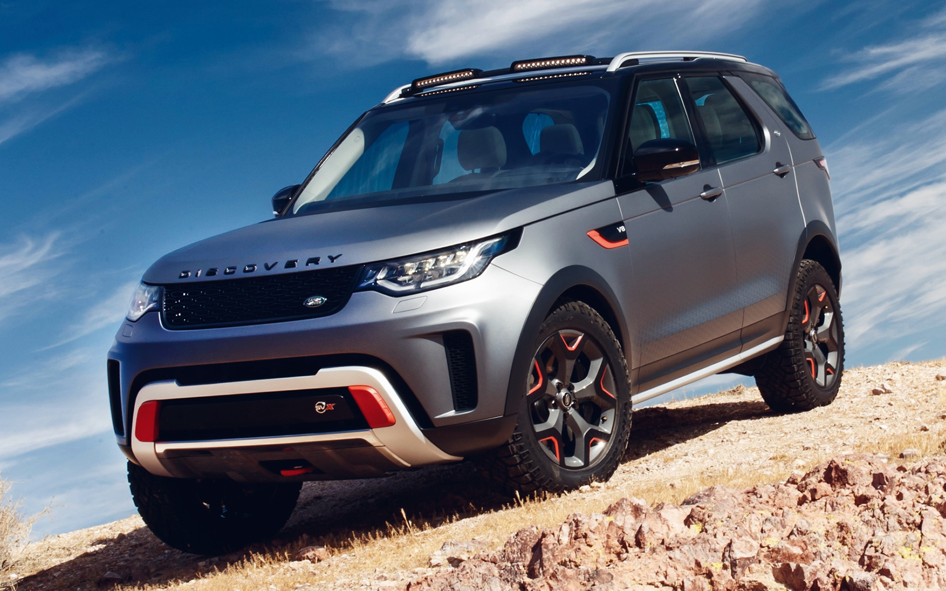 Land Rover Discovery Svx 2018 Wallpapers And Hd Images Car Pixel