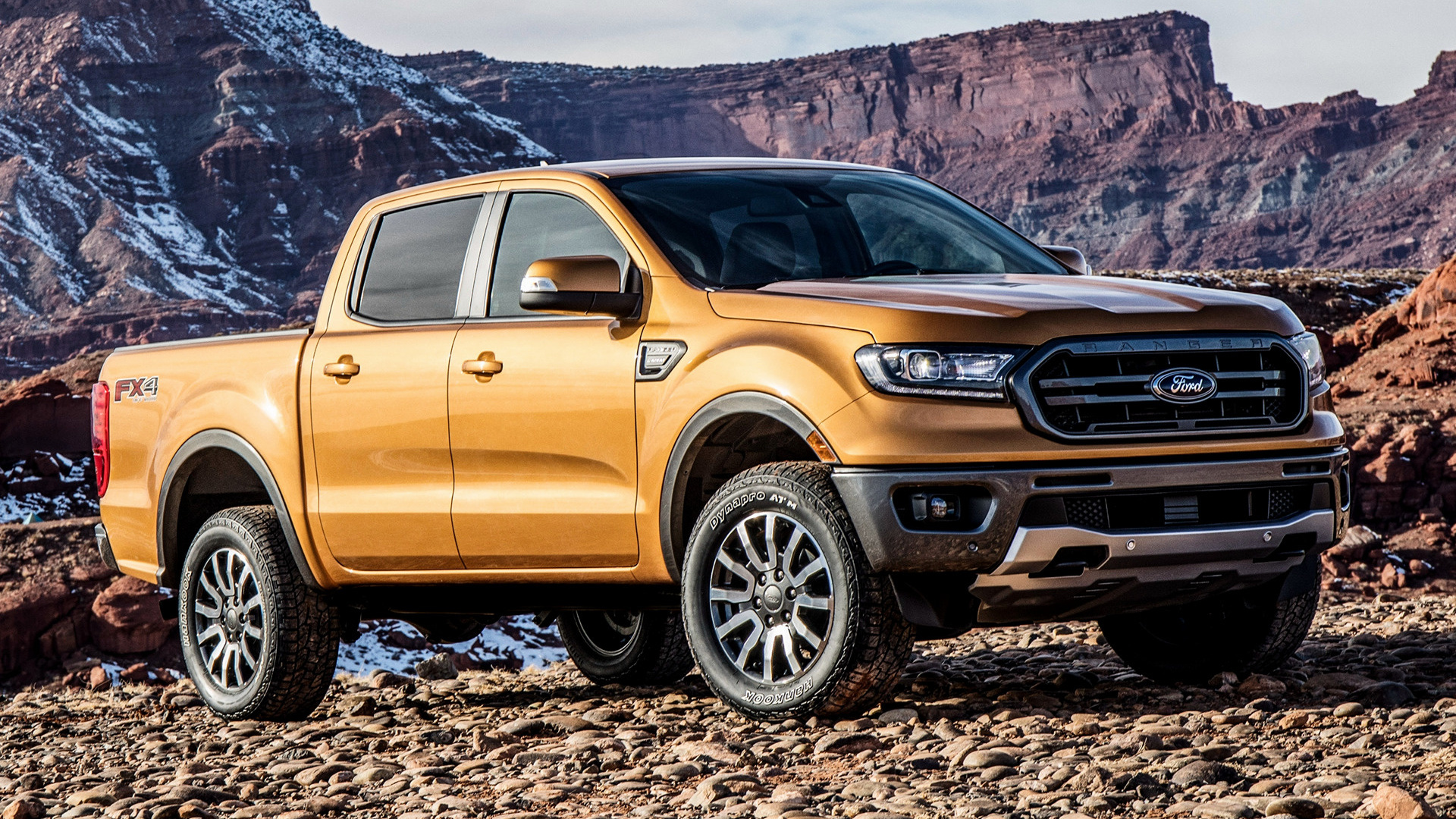 2019 Ford Ranger Lariat FX4 SuperCrew (US) - Wallpapers ...