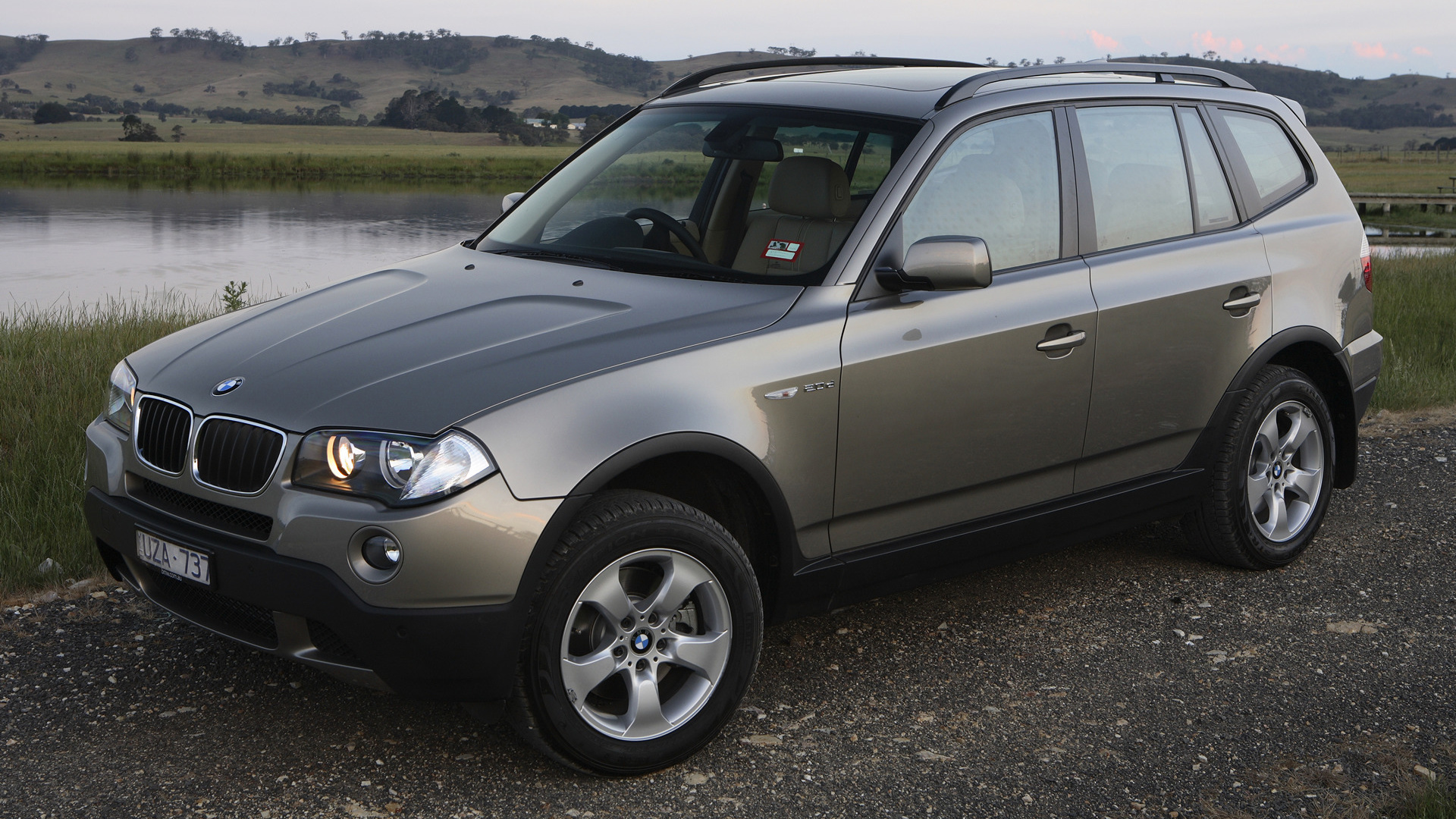 2007 bmw x3 au wallpapers and hd images car pixel. Black Bedroom Furniture Sets. Home Design Ideas