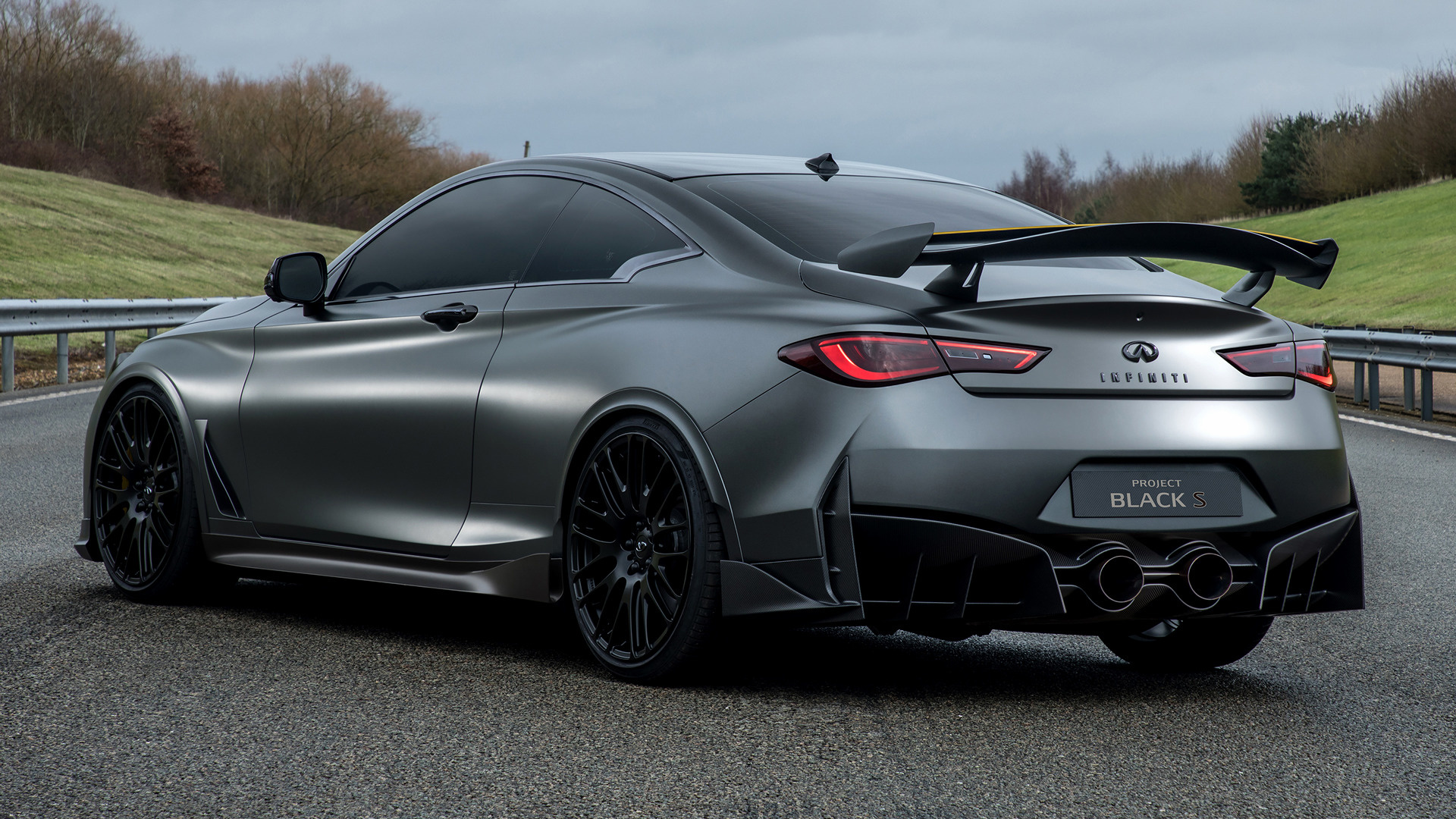 2017 Infiniti Q60 Project Black S Concept - Wallpapers and ...