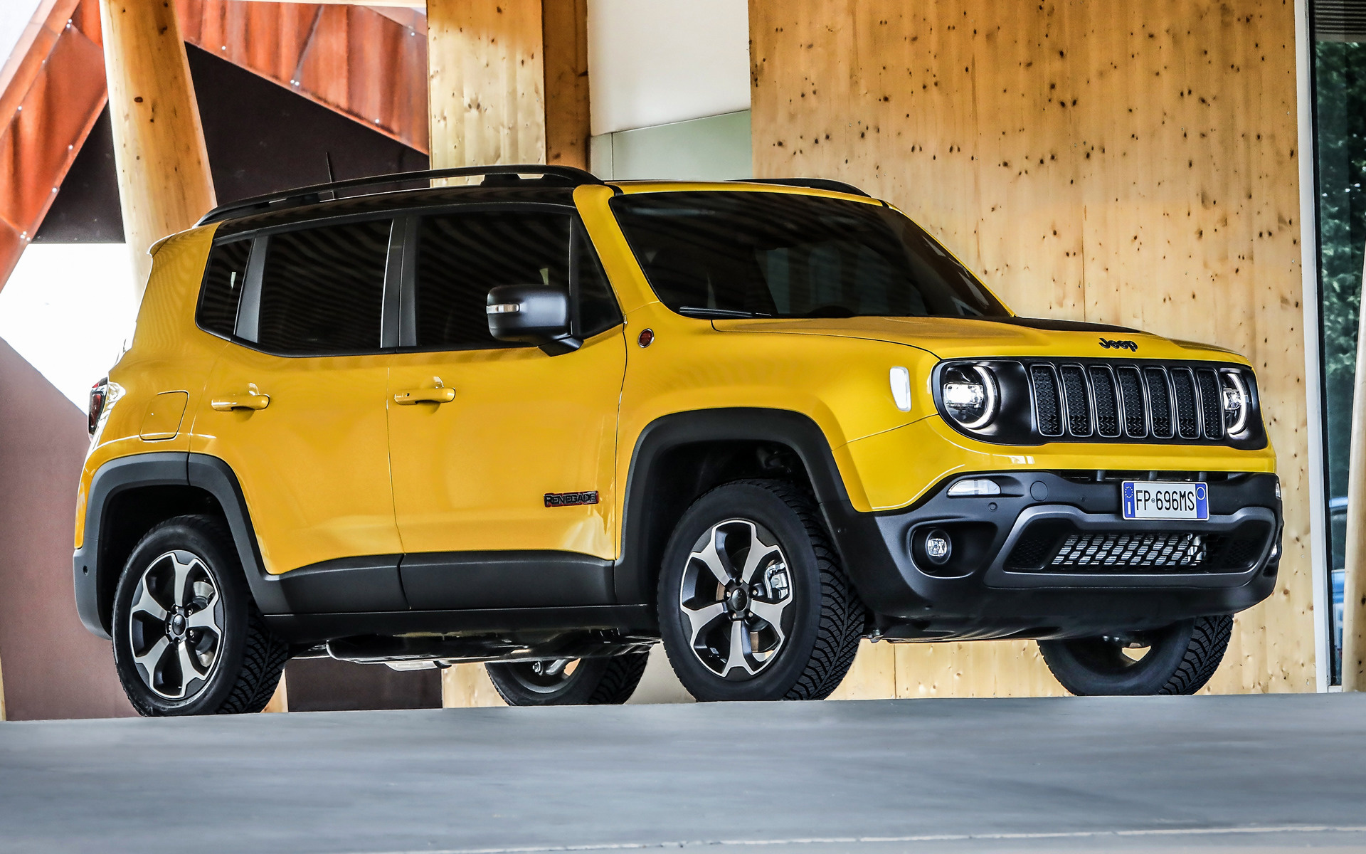 2016 Dodge Ram >> 2018 Jeep Renegade Trailhawk - Wallpapers and HD Images | Car Pixel