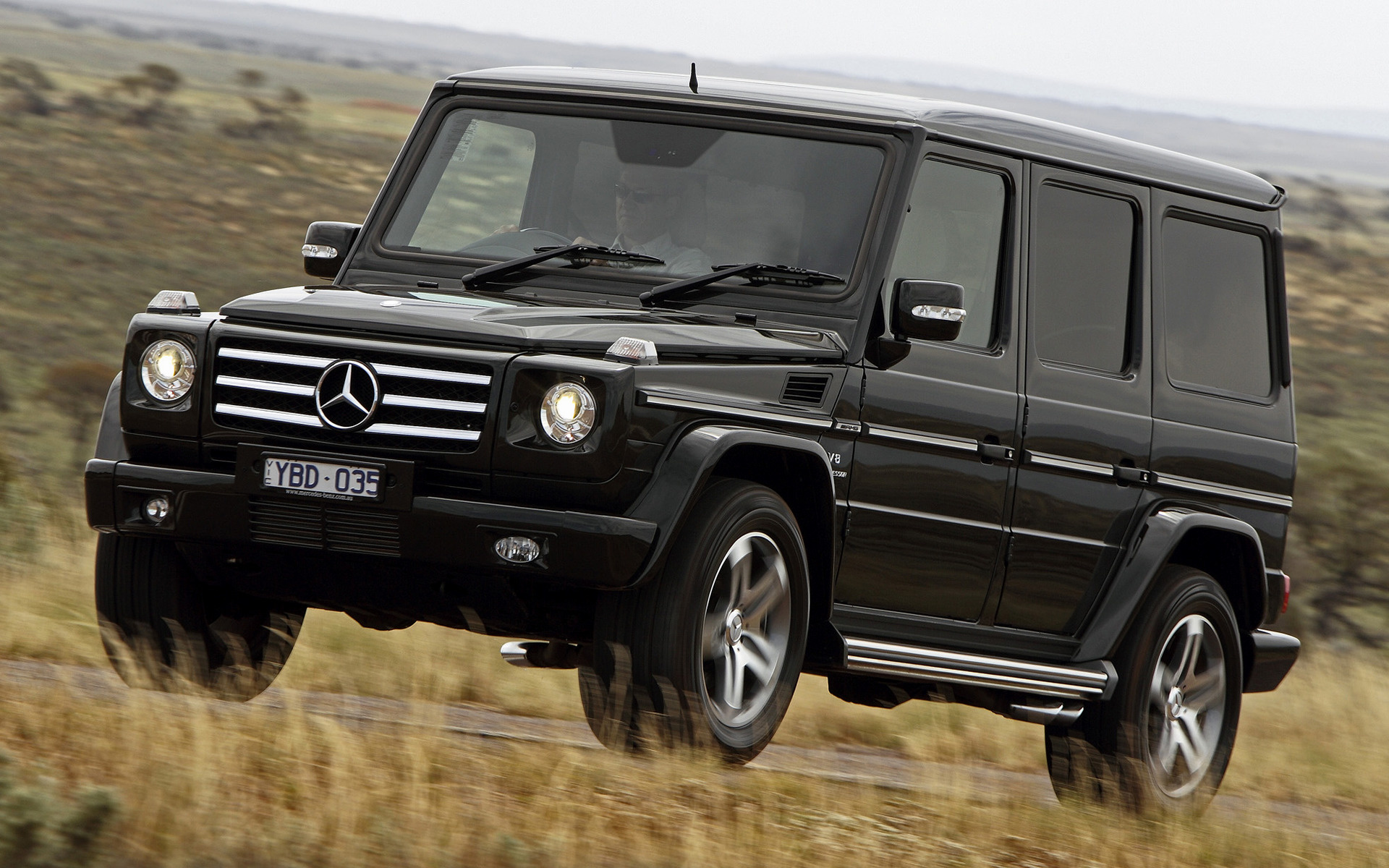 2008 Mercedes Benz G 55 Amg Au Wallpapers And Hd