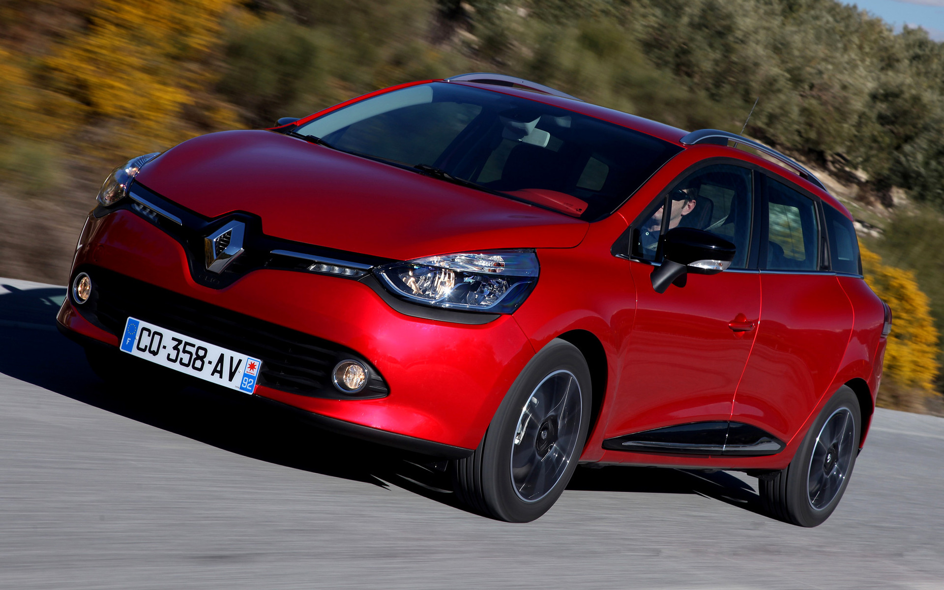 renault clio estate 2013 wallpapers and hd images car. Black Bedroom Furniture Sets. Home Design Ideas
