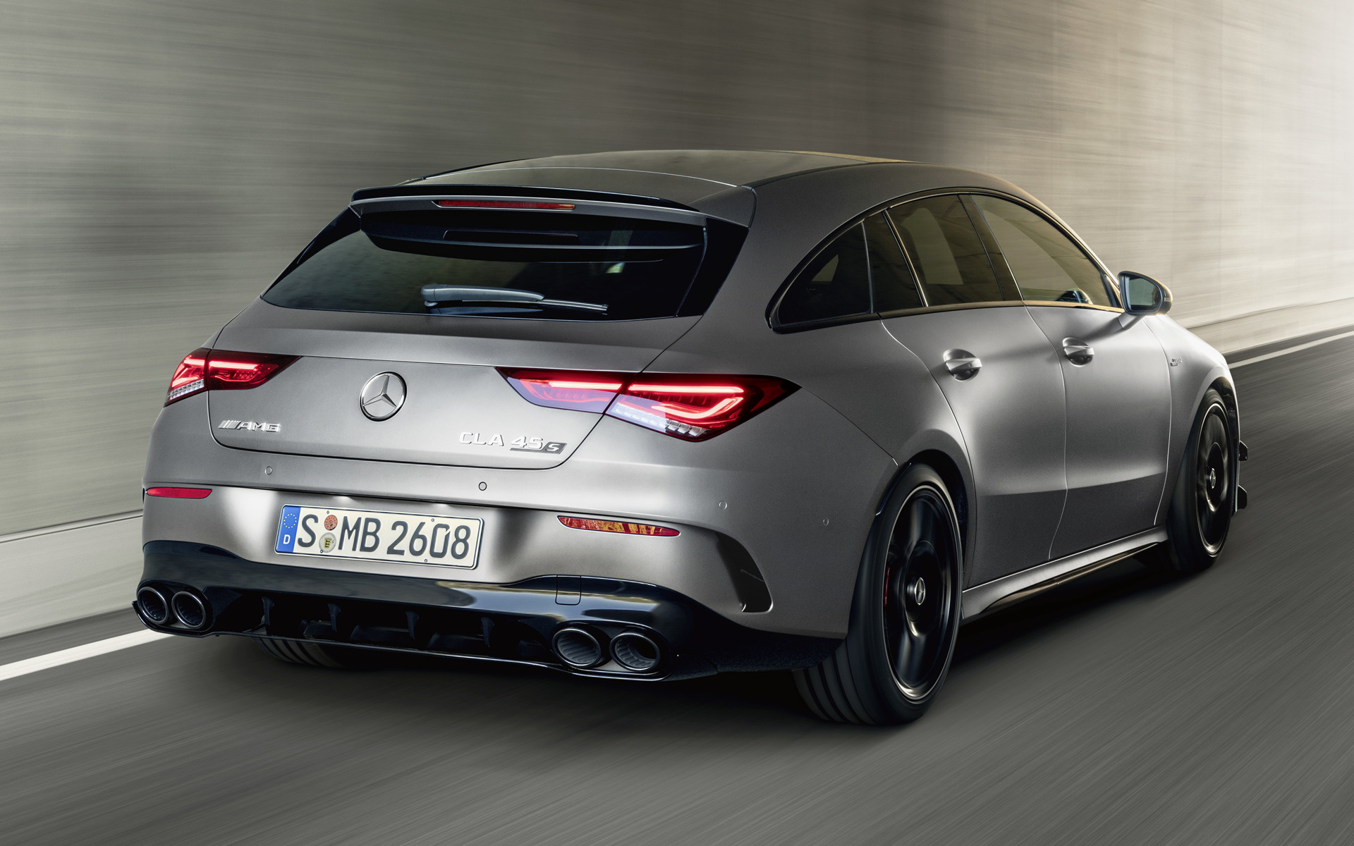 2019 Mercedes Amg Cla 45 S Shooting Brake Aerodynamics Package Papeis De Parede E Imagens De Fundo Em Hd Car Pixel