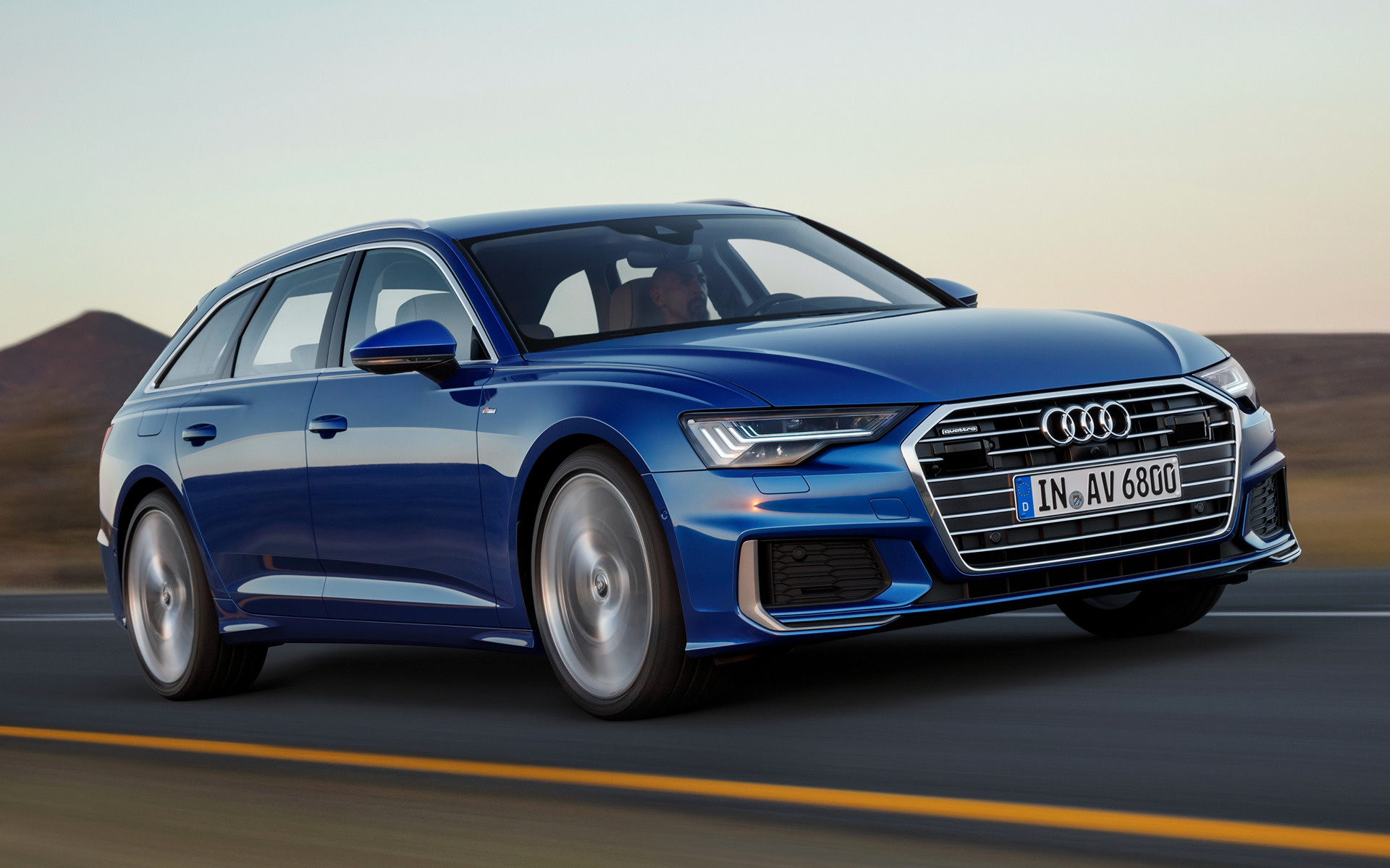 2018 Audi A6 Avant S Line Wallpapers And Hd Images Car Pixel