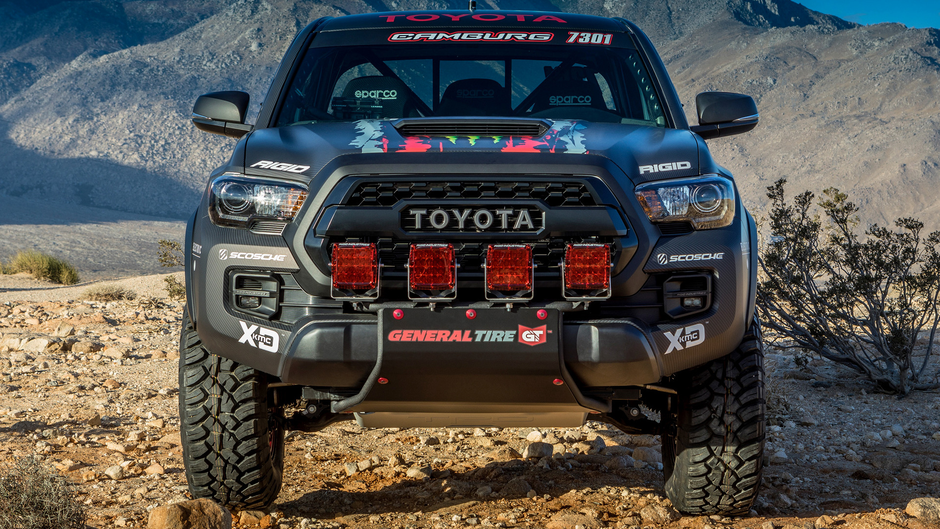 2016 Toyota Tacoma Trd Pro Race Truck Wallpapers And Hd