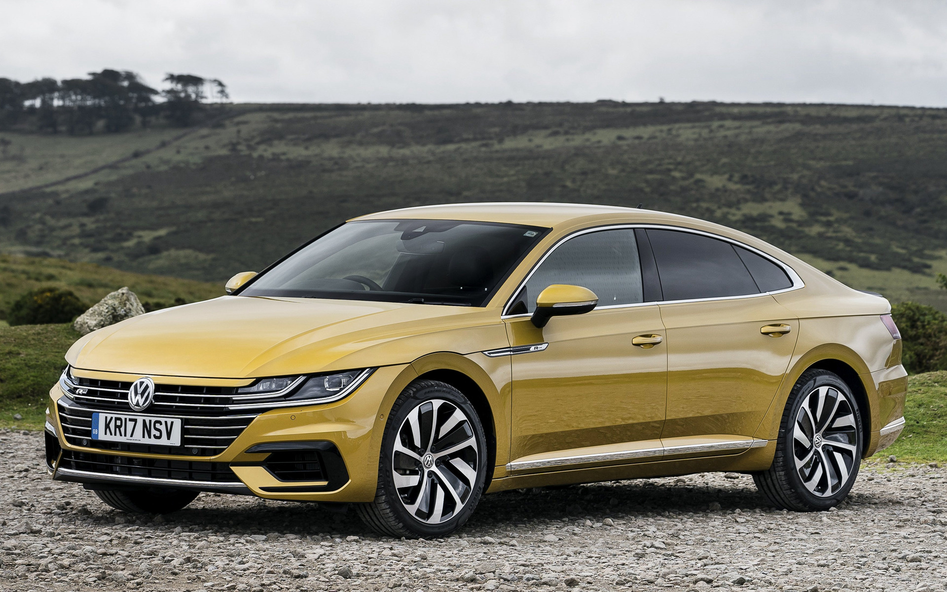 Mercedes Benz Coupe >> 2017 Volkswagen Arteon R-Line (UK) - Wallpapers and HD Images | Car Pixel