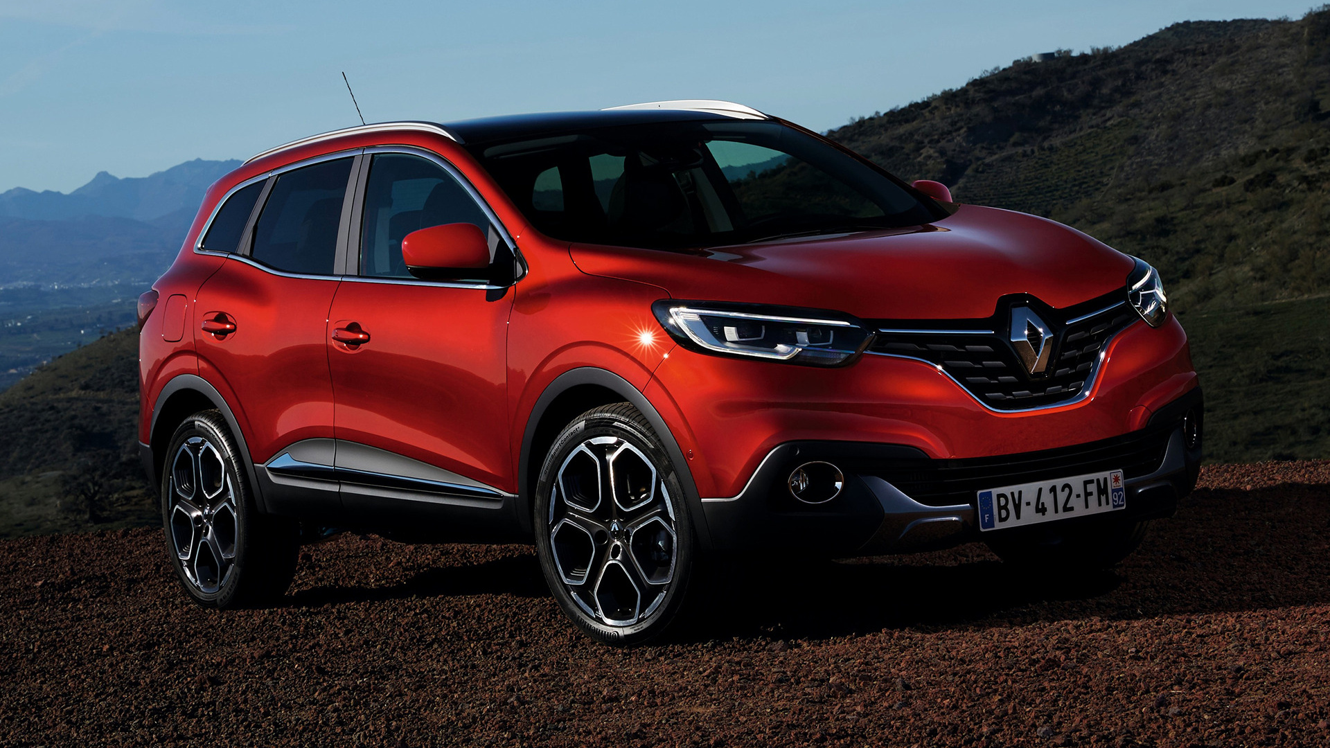 renault kadjar 2015 wallpapers and hd images car pixel. Black Bedroom Furniture Sets. Home Design Ideas