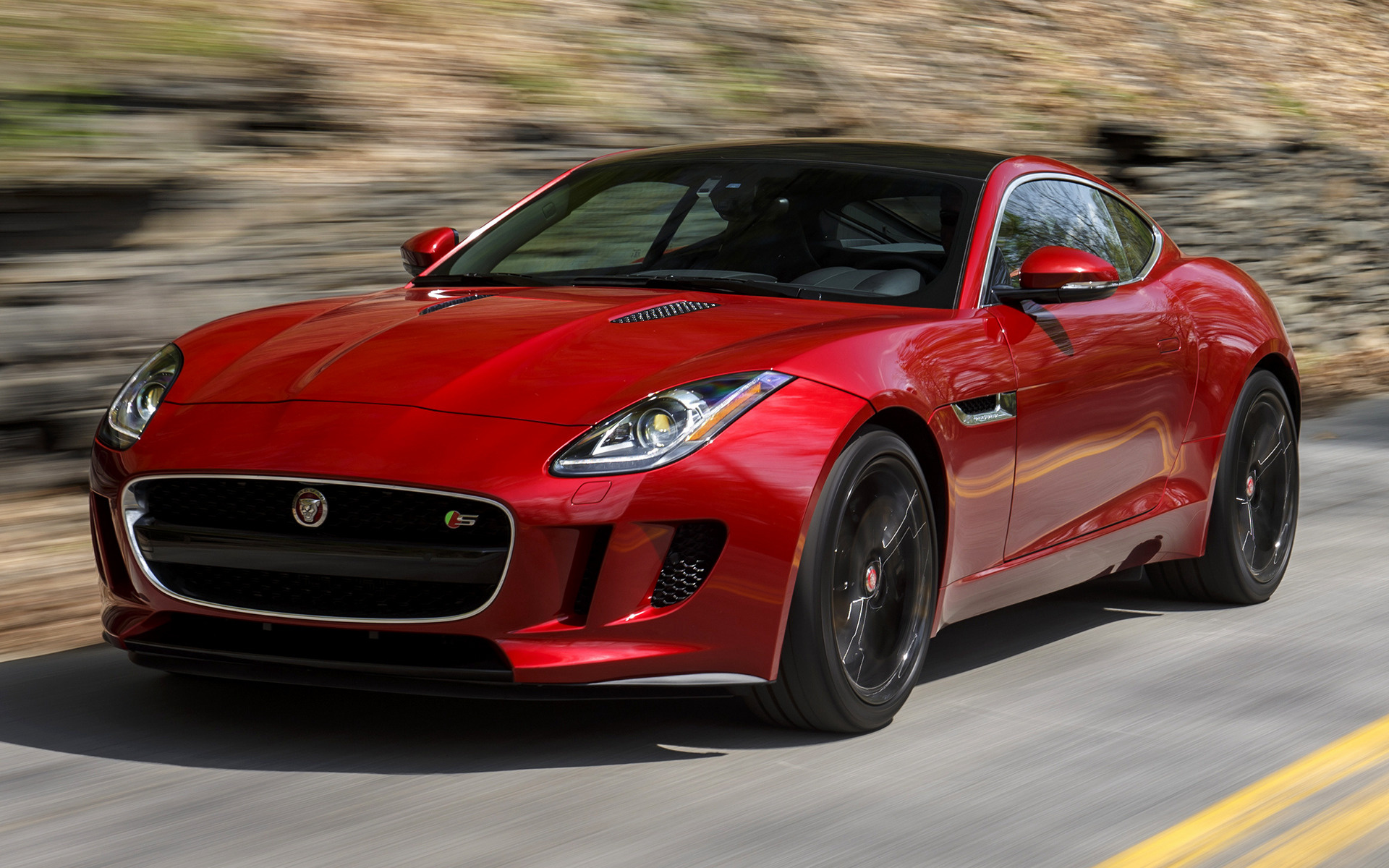 Jaguar F Type S Coupe 2015 Us Wallpapers And Hd Images