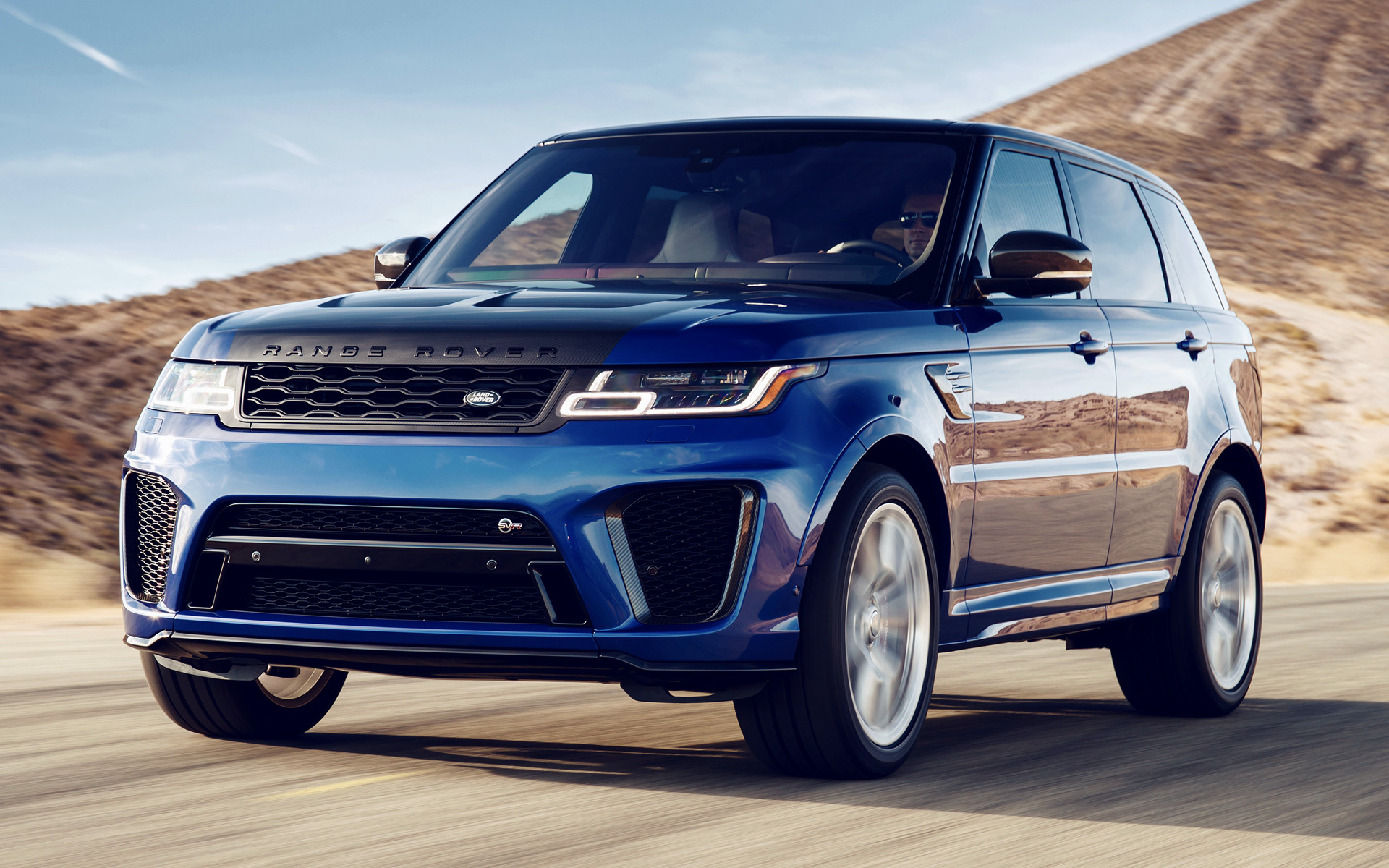 2018 Range Rover Sport Svr Us Wallpapers And Hd Images Car Pixel