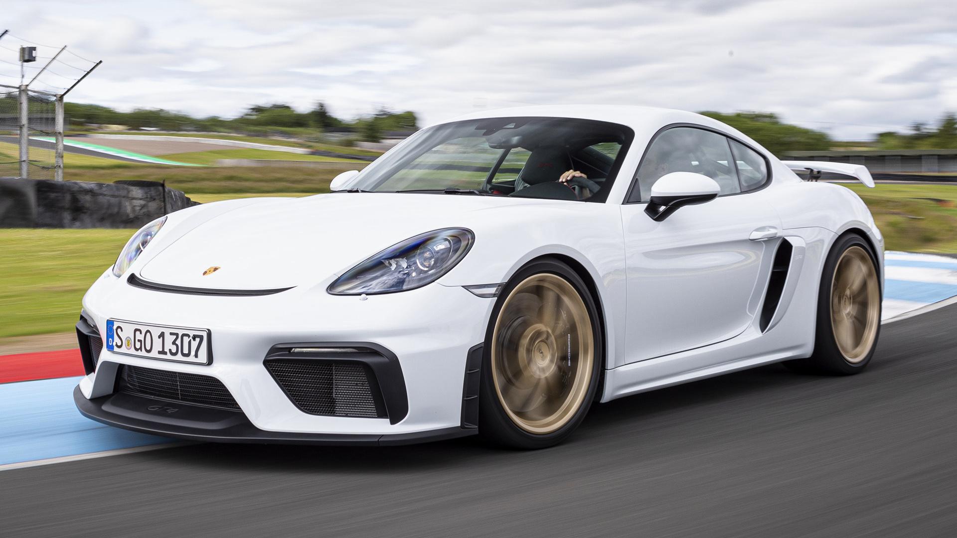 2019 Porsche 718 Cayman Gt4 Wallpapers And Hd Images Car Pixel