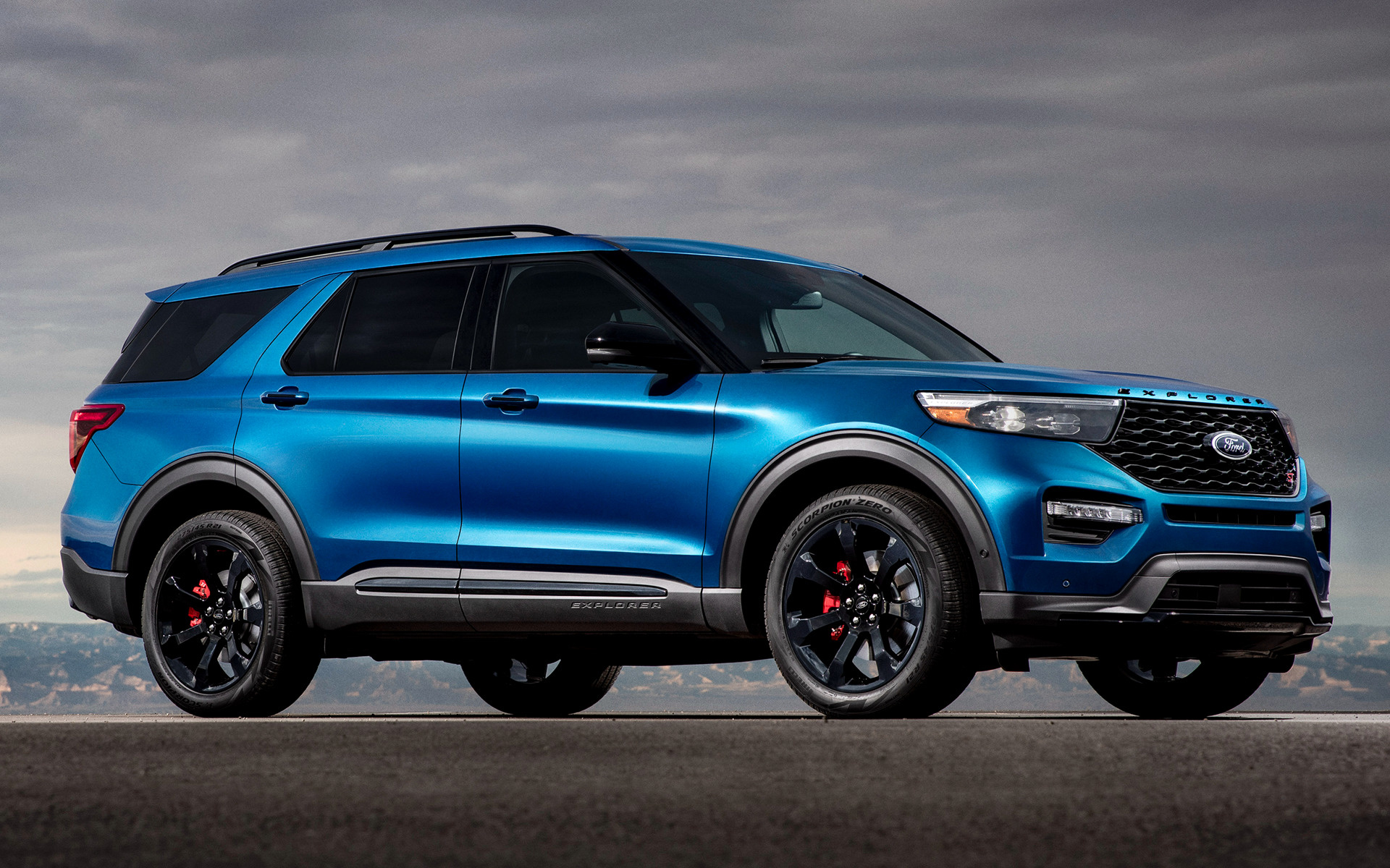 2020 Ford Explorer St Wallpapers And Hd Images Car Pixel