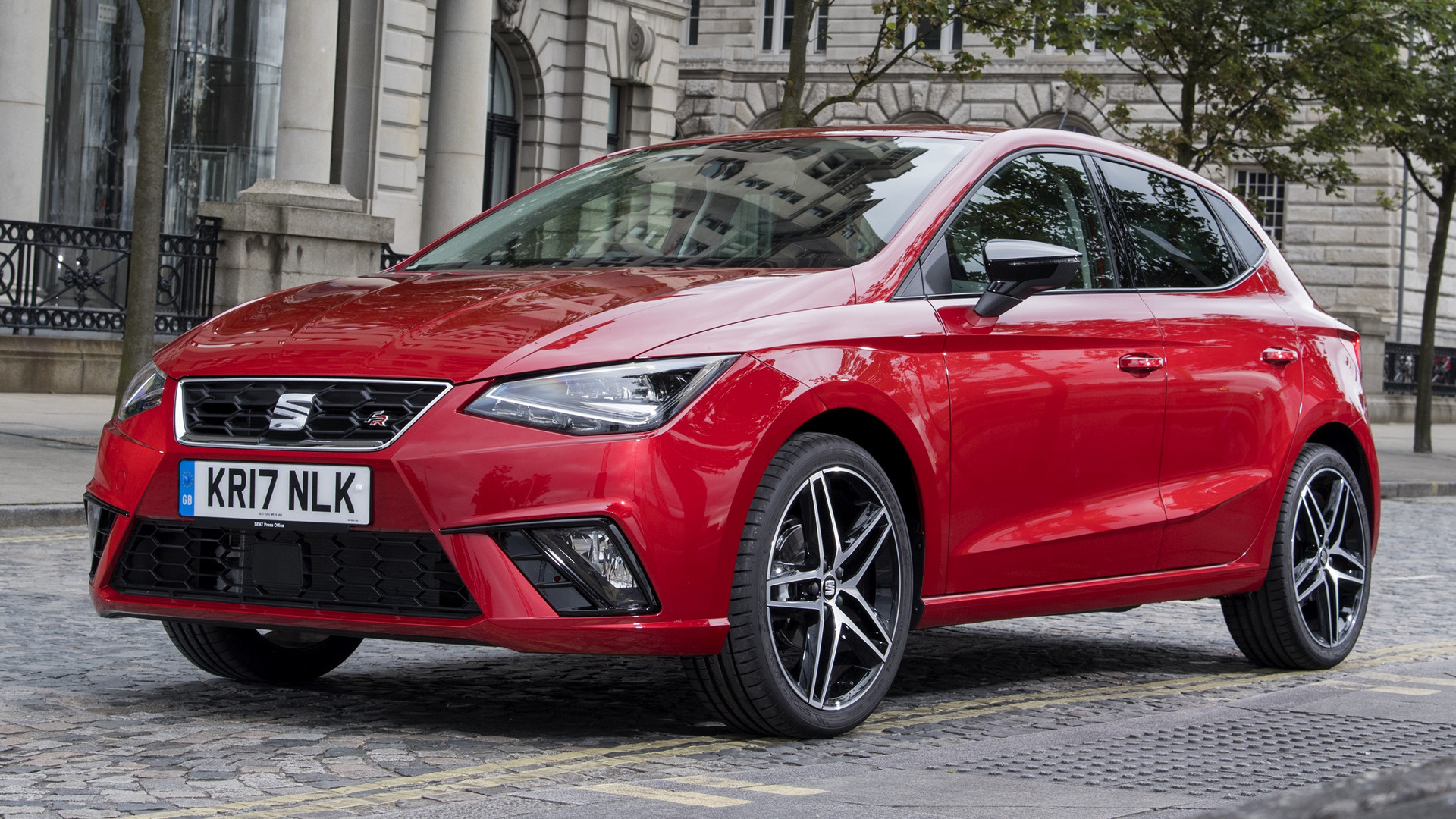 seat ibiza fr 2017 uk wallpapers and hd images car pixel. Black Bedroom Furniture Sets. Home Design Ideas