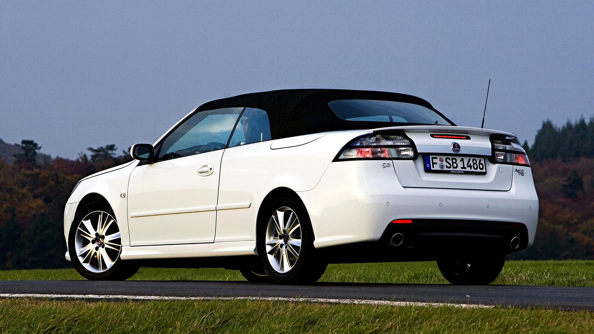 2008 Saab 9 3 Aero >> 2008 Saab 9-3 Aero Convertible - Wallpapers and HD Images | Car Pixel