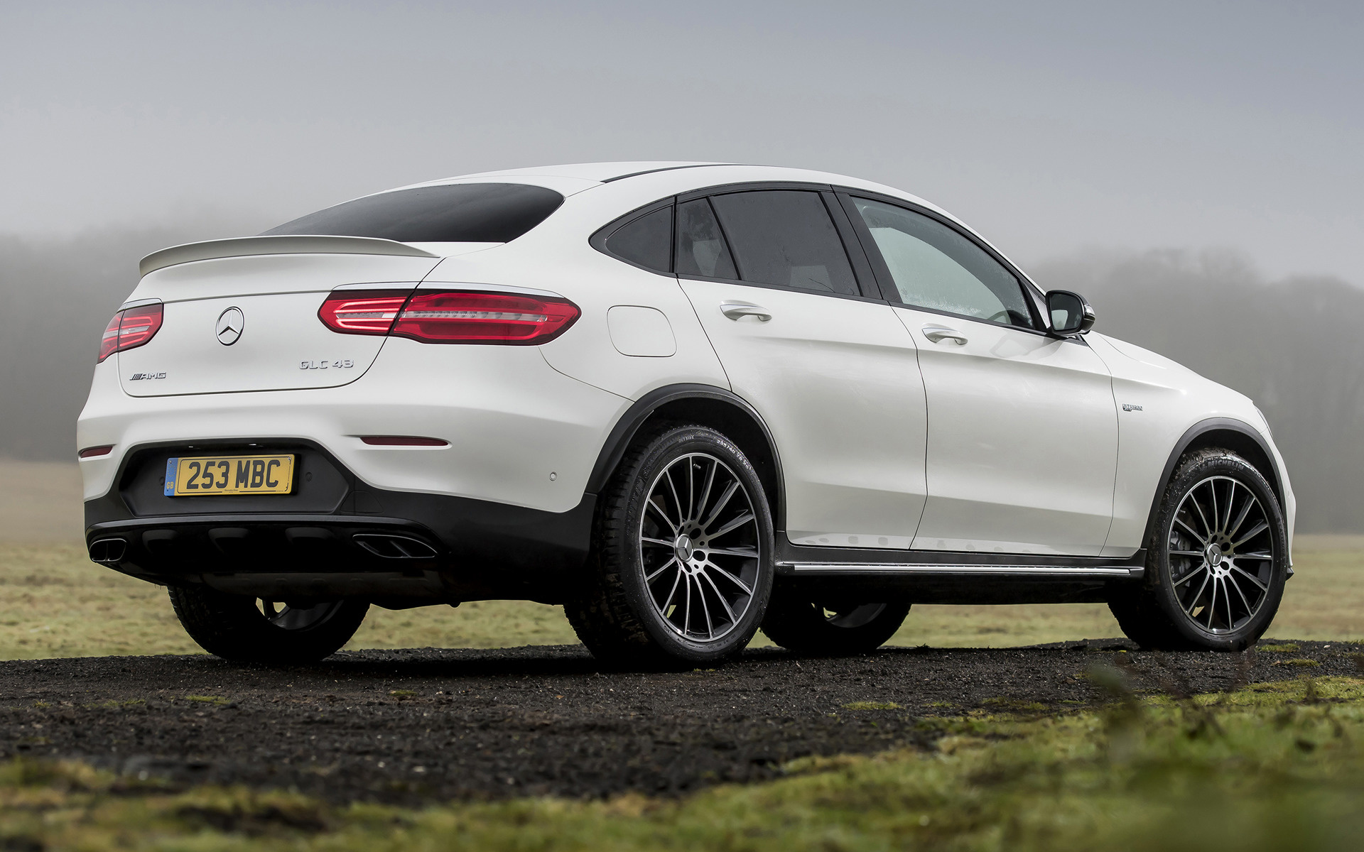 Mercedes Amg Glc 43 Coupe 2017 Uk Wallpapers And Hd