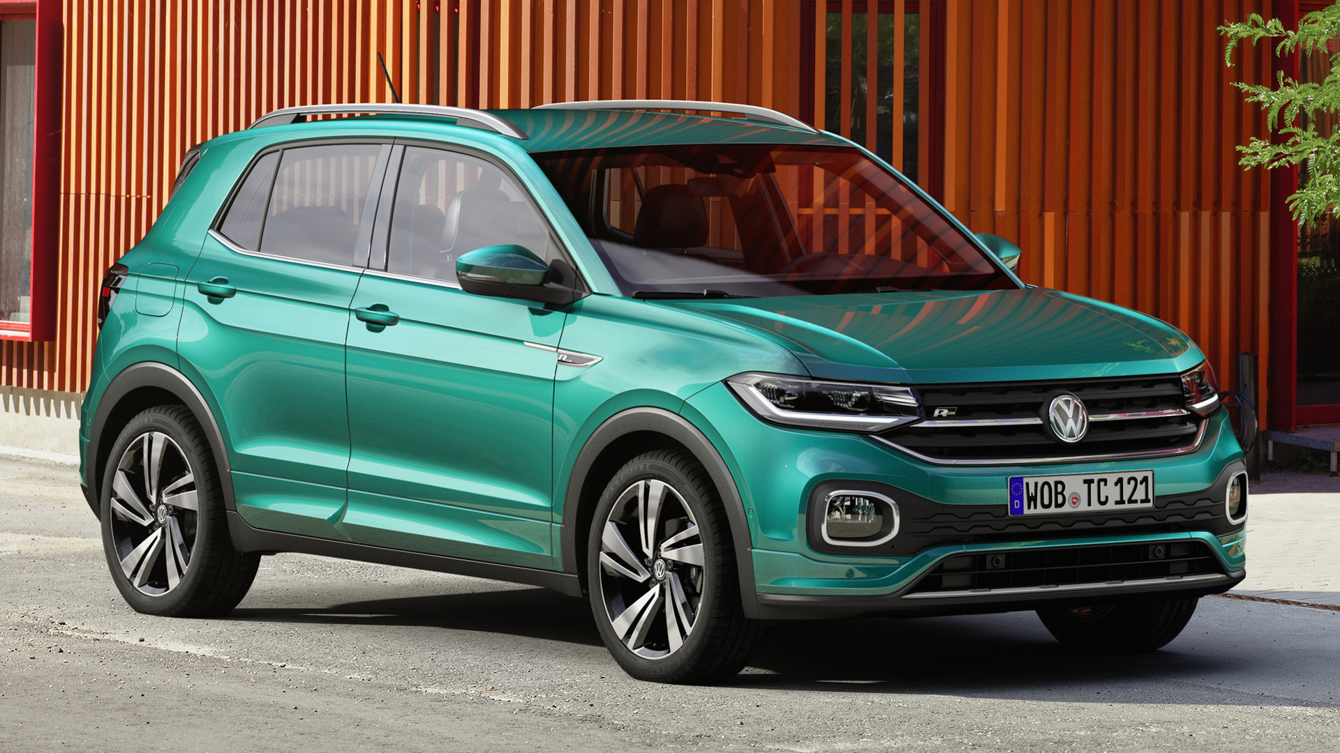 2019 volkswagen t cross r line wallpapers and hd images. Black Bedroom Furniture Sets. Home Design Ideas