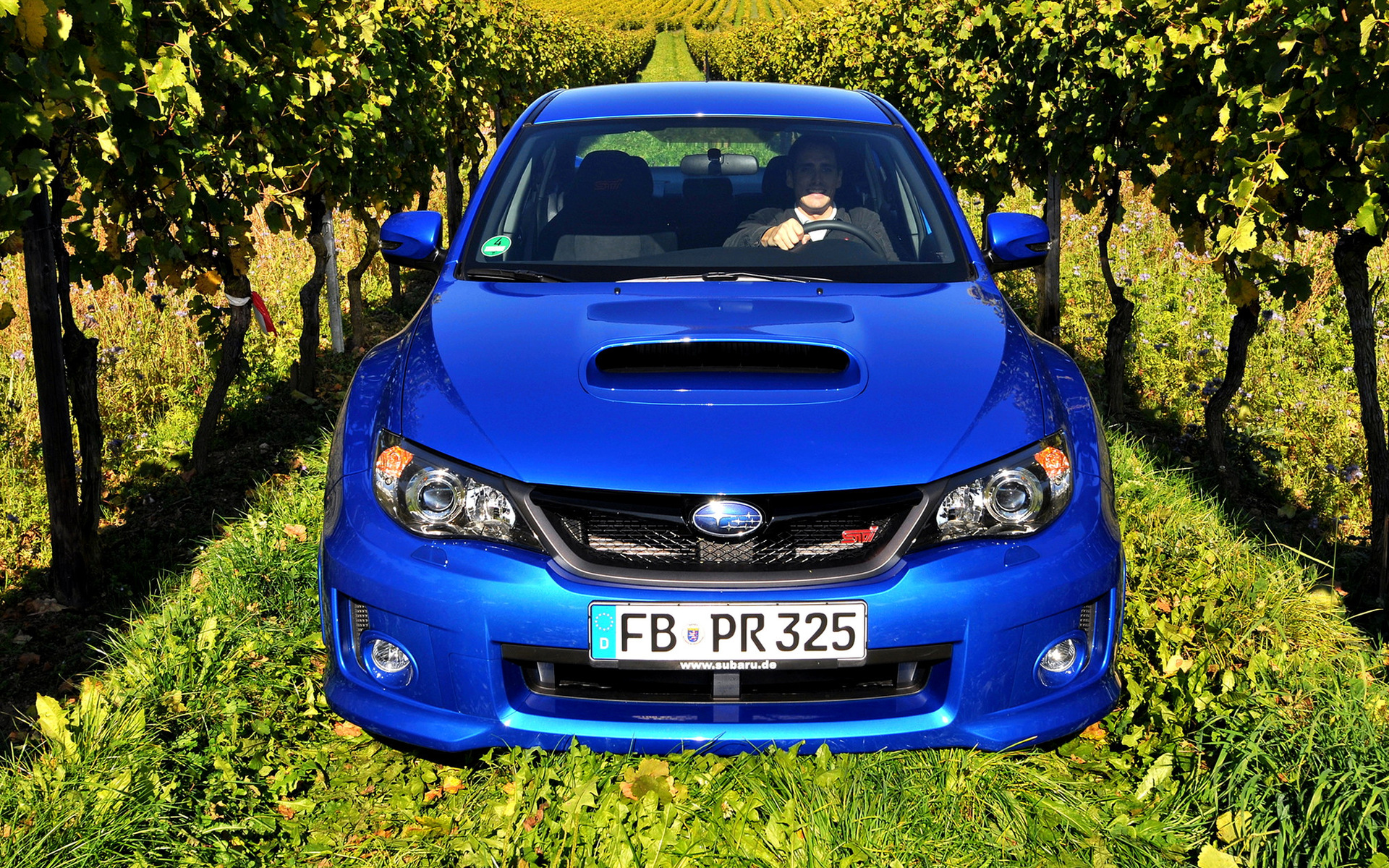 Subaru Impreza Wrx Sti Sedan Car Wallpaper
