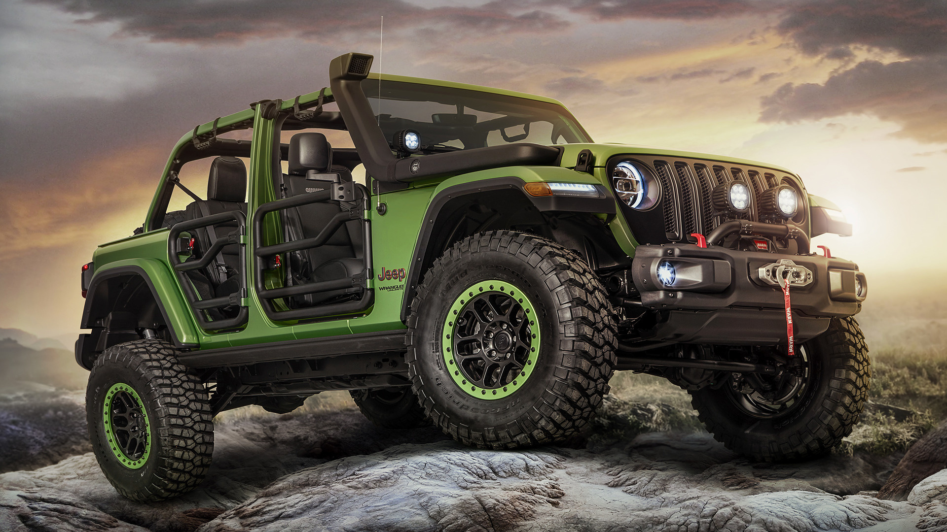 jeep wrangler unlimited rubicon moparized (2018) wallpapers and hd