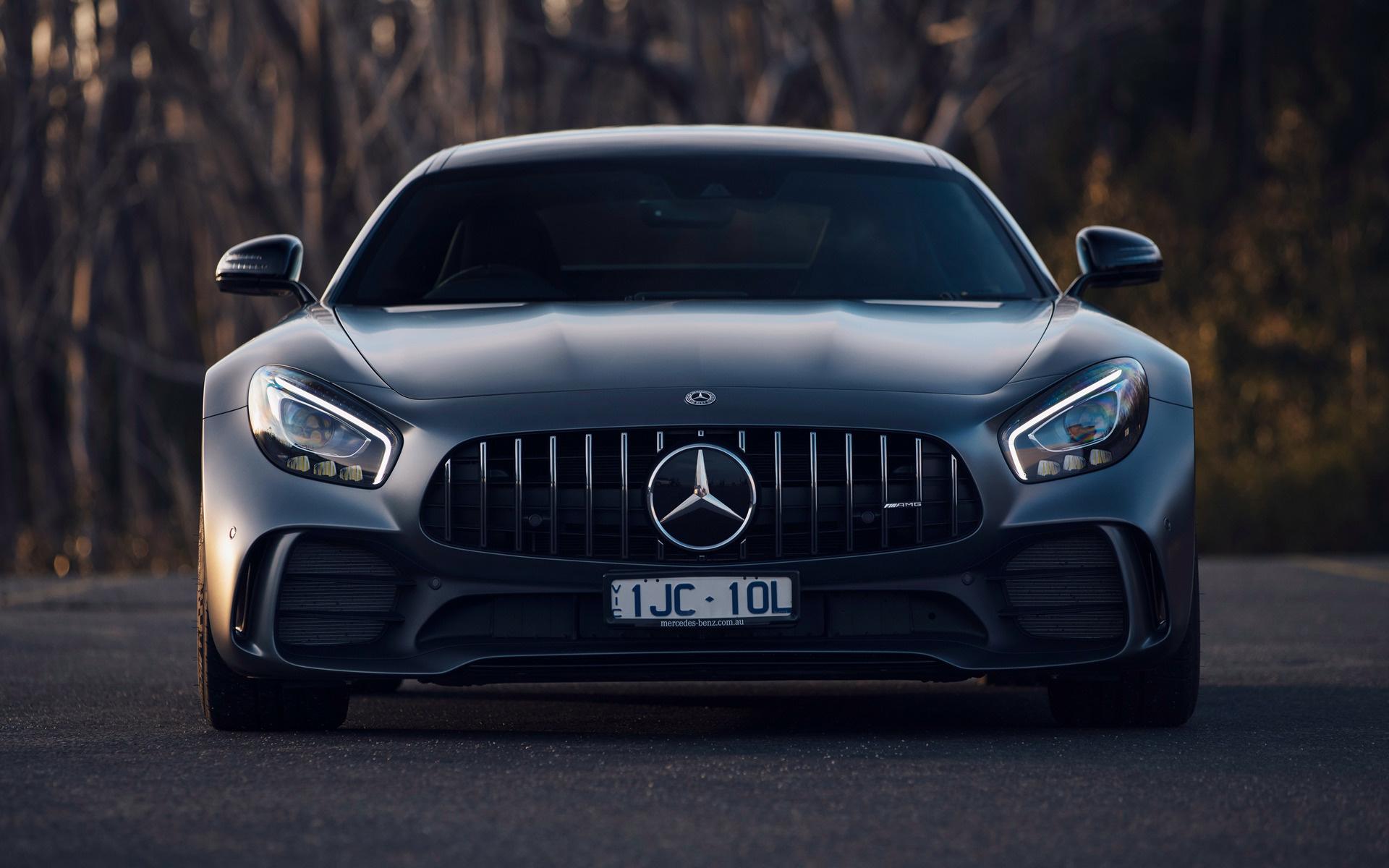 2017 Mercedes Amg Gt R Au Hintergrundbilder Und