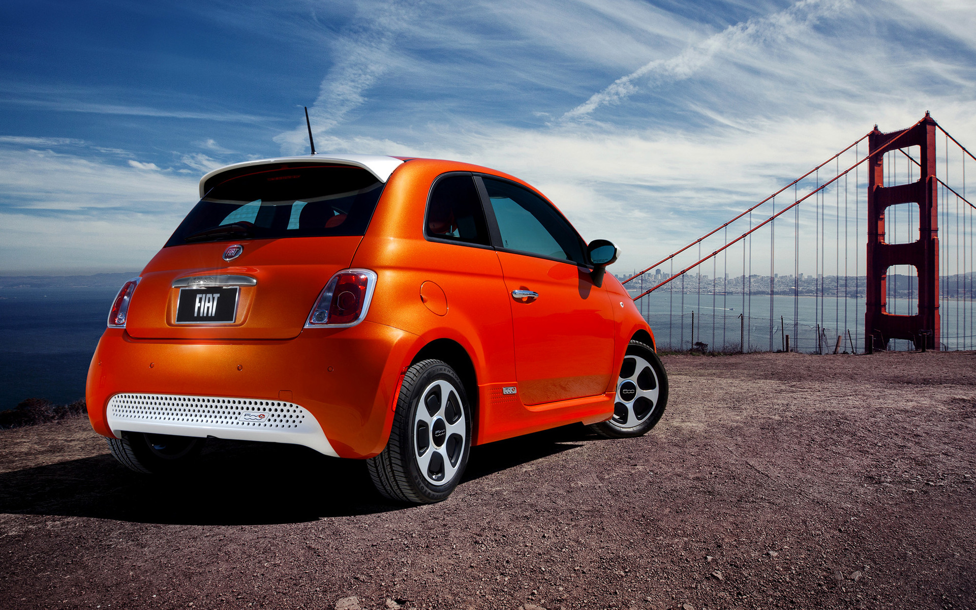 Fiat 500e 2013 Wallpapers And Hd Images Car Pixel