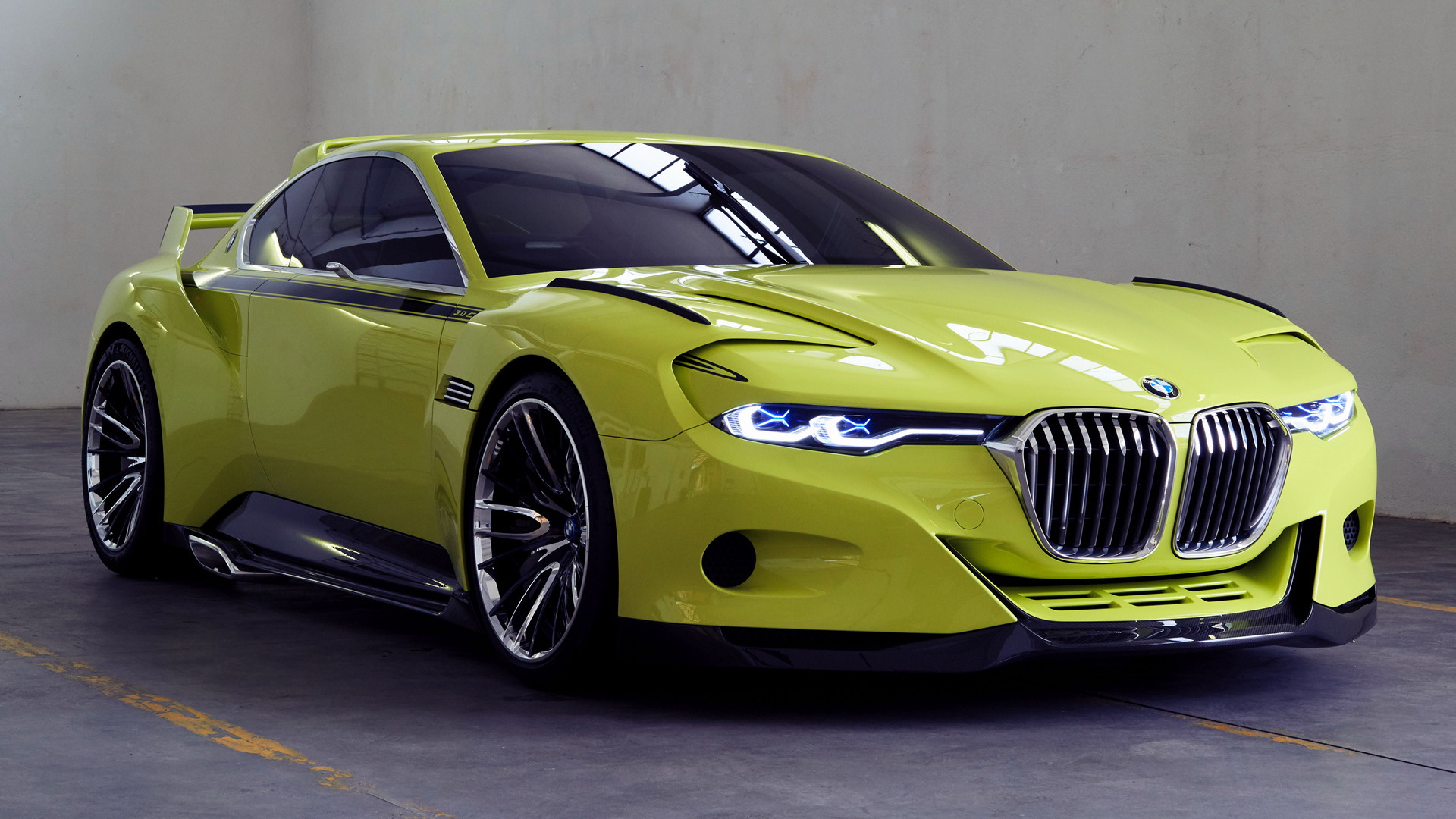 bmw 3 0 csl hommage  2015  wallpapers and hd images