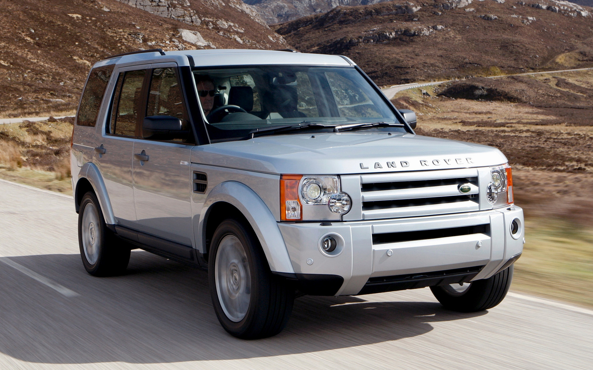 land rover discovery 3 hse 2008 uk wallpapers and hd. Black Bedroom Furniture Sets. Home Design Ideas