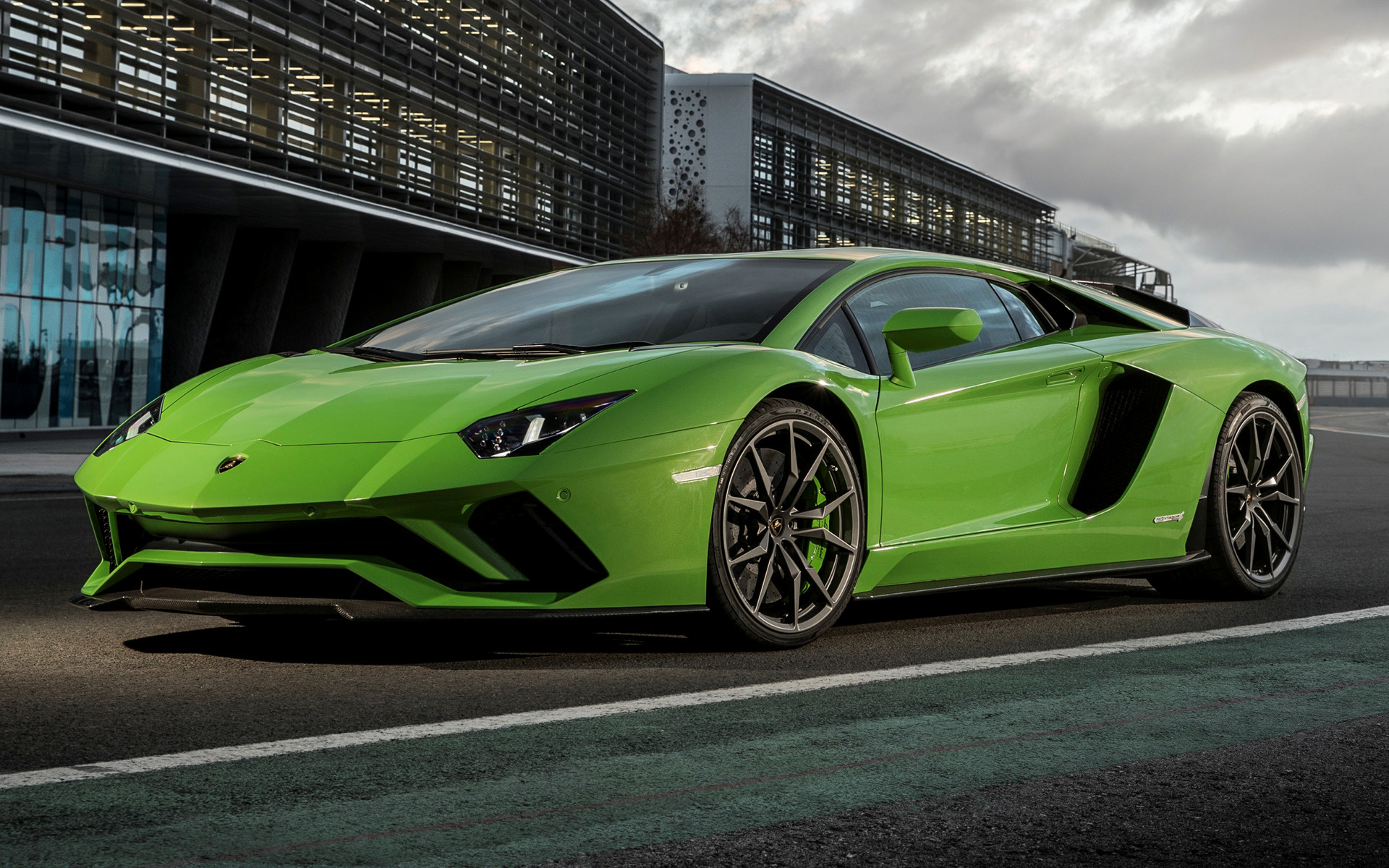2017 Lamborghini Aventador S - Wallpapers and HD Images ...