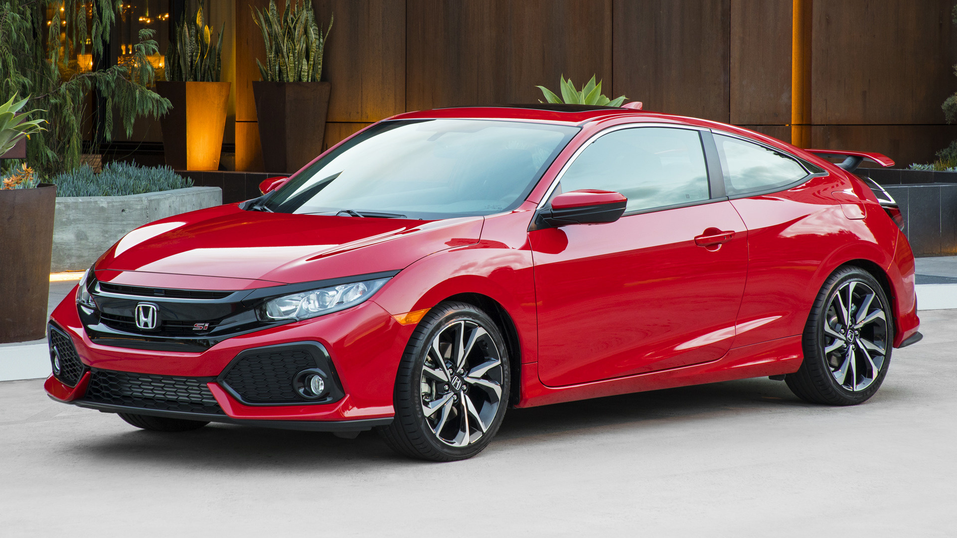 2018 Honda Accord >> 2017 Honda Civic Si Coupe (US) - Wallpapers and HD Images | Car Pixel