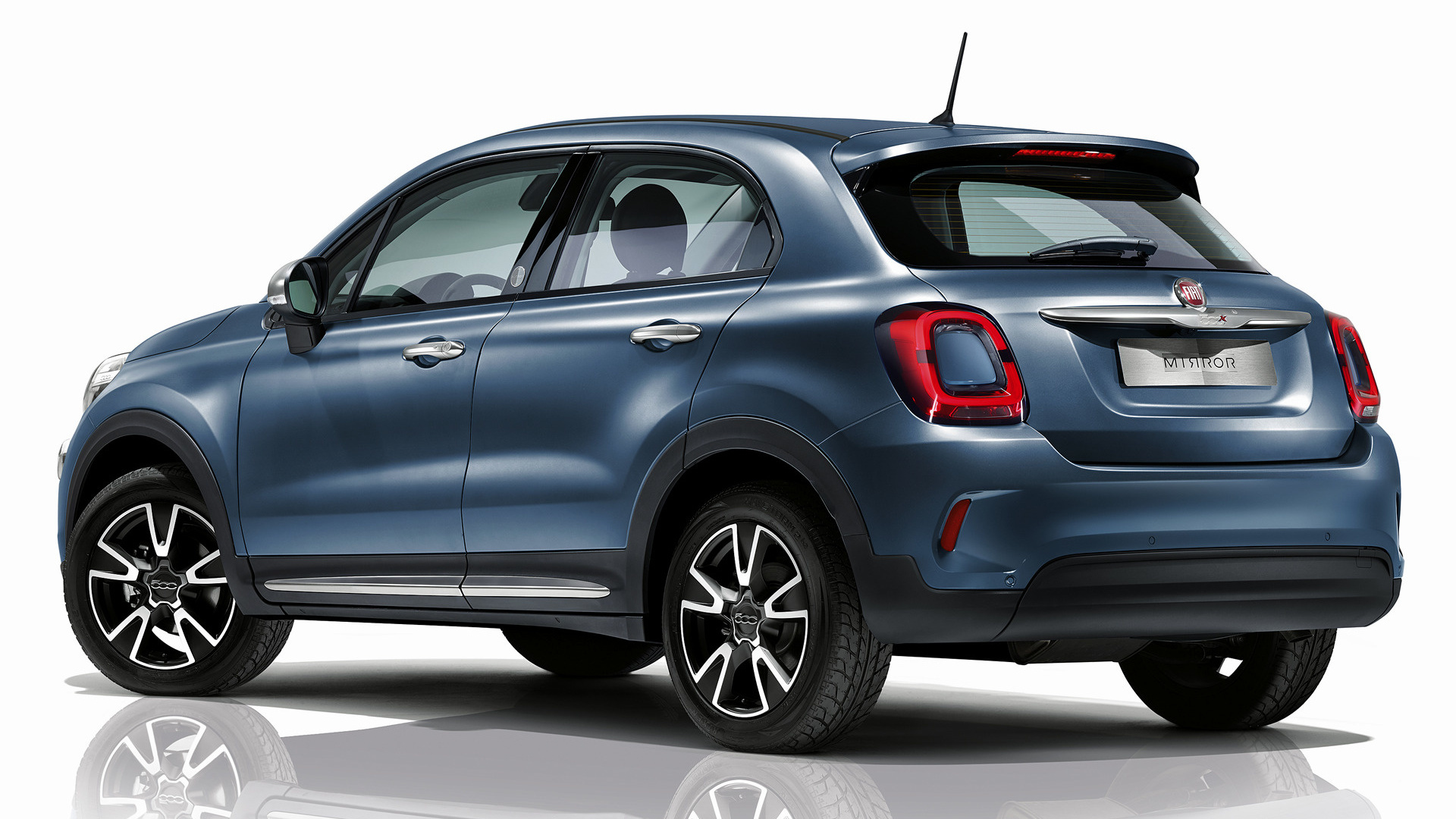 2019 fiat 500x mirror wallpapers and hd images car pixel. Black Bedroom Furniture Sets. Home Design Ideas