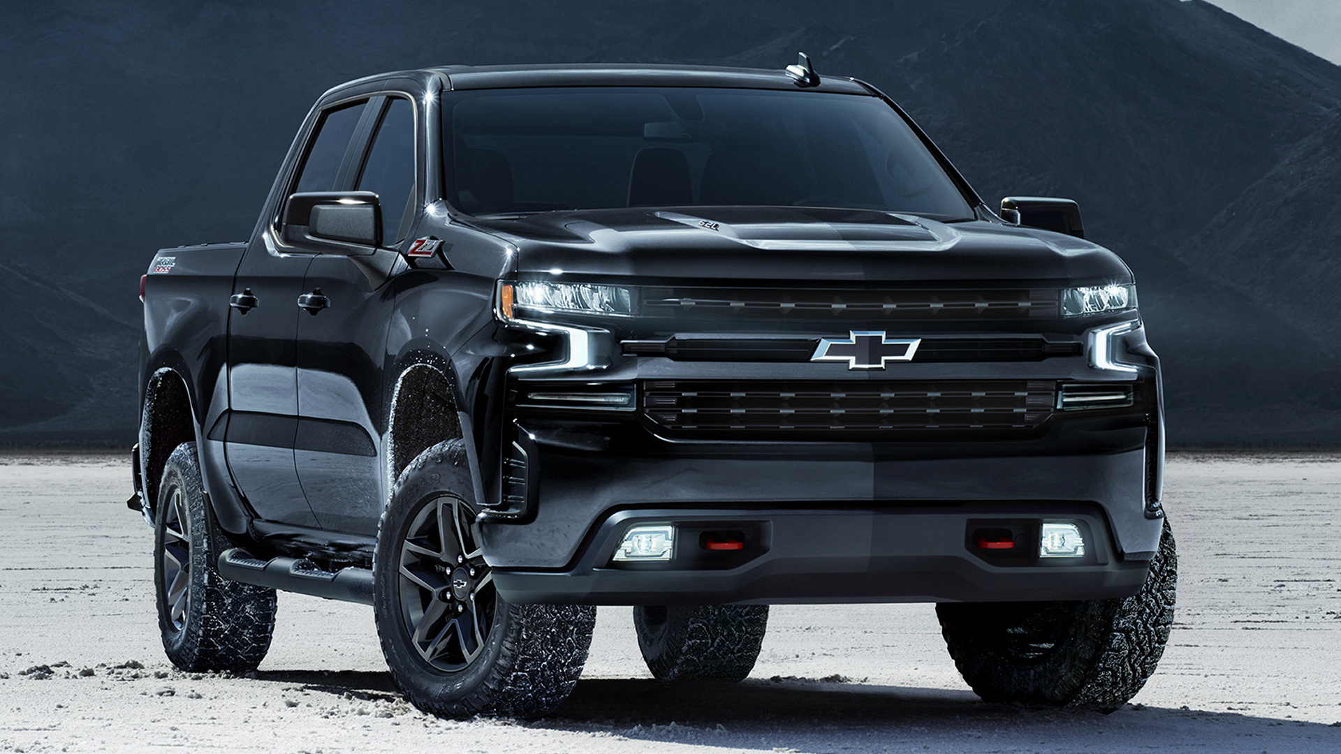 2020 chevrolet silverado z71 trail boss crew cab midnight edition